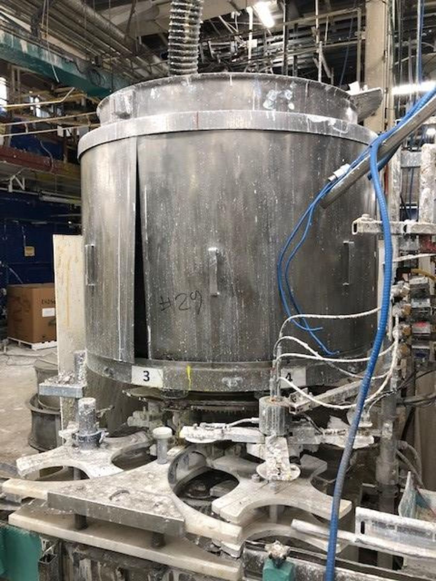 Filler Serac rotary 8 heads gallons