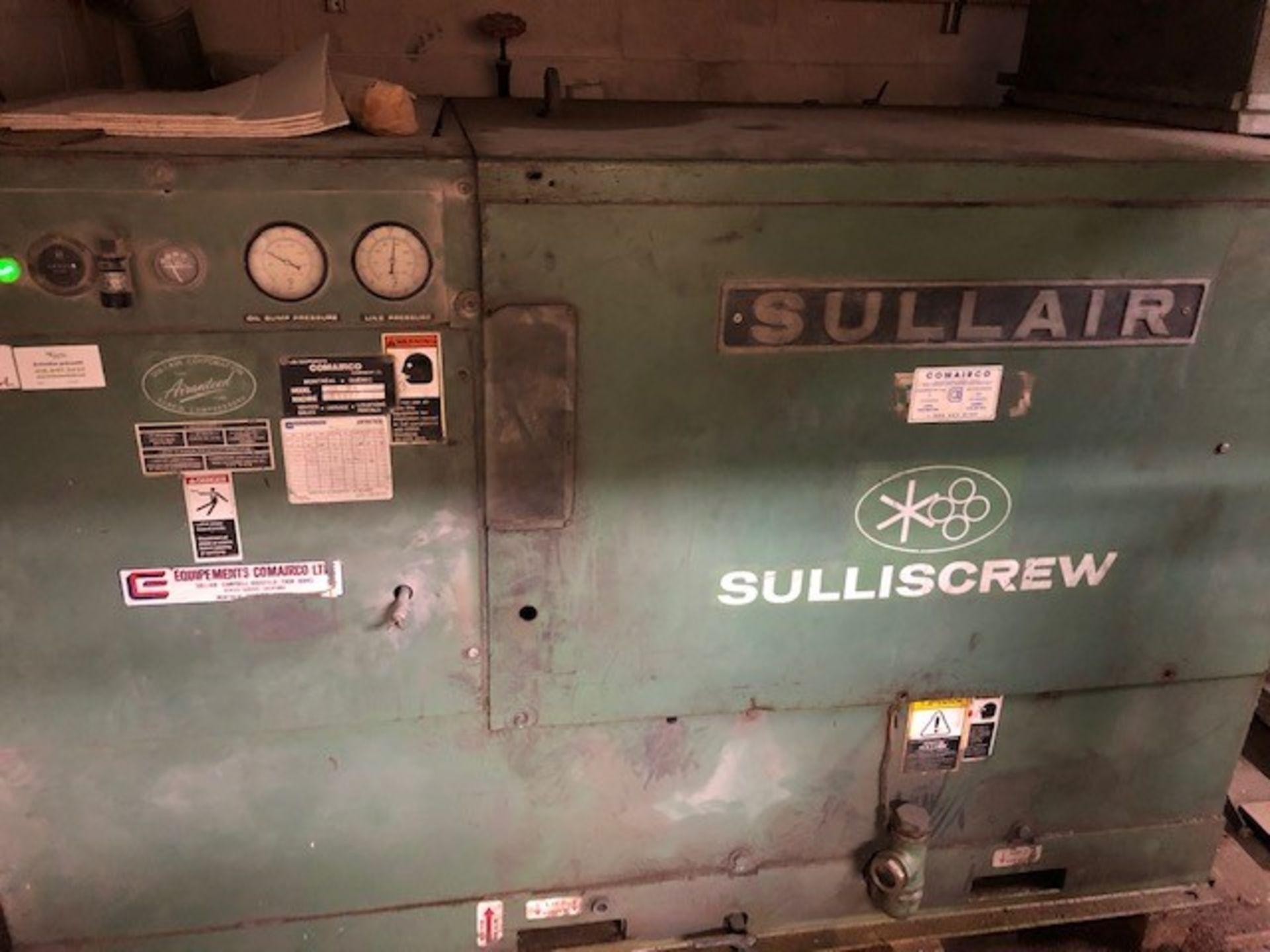 Air Compressor 75hp Sullair, Model: LS-20S-150H ACAC, s/n: 003-112279