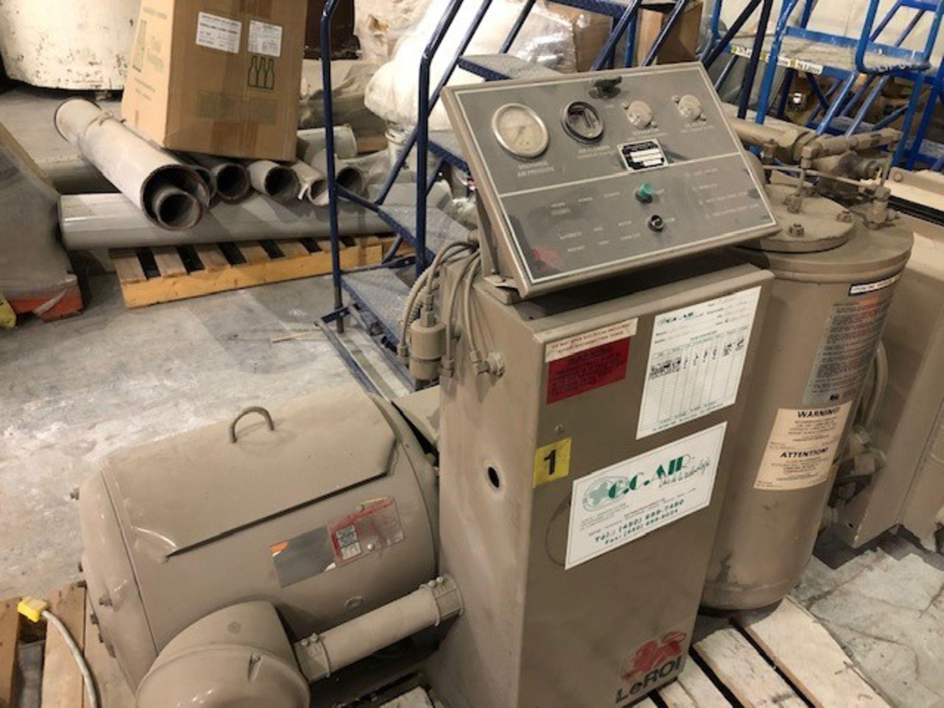 Air Compressor 50hp #2 LeRoi International model: A219-180 G8, s/n: 4166X2457, 125psi, 50hp 600v
