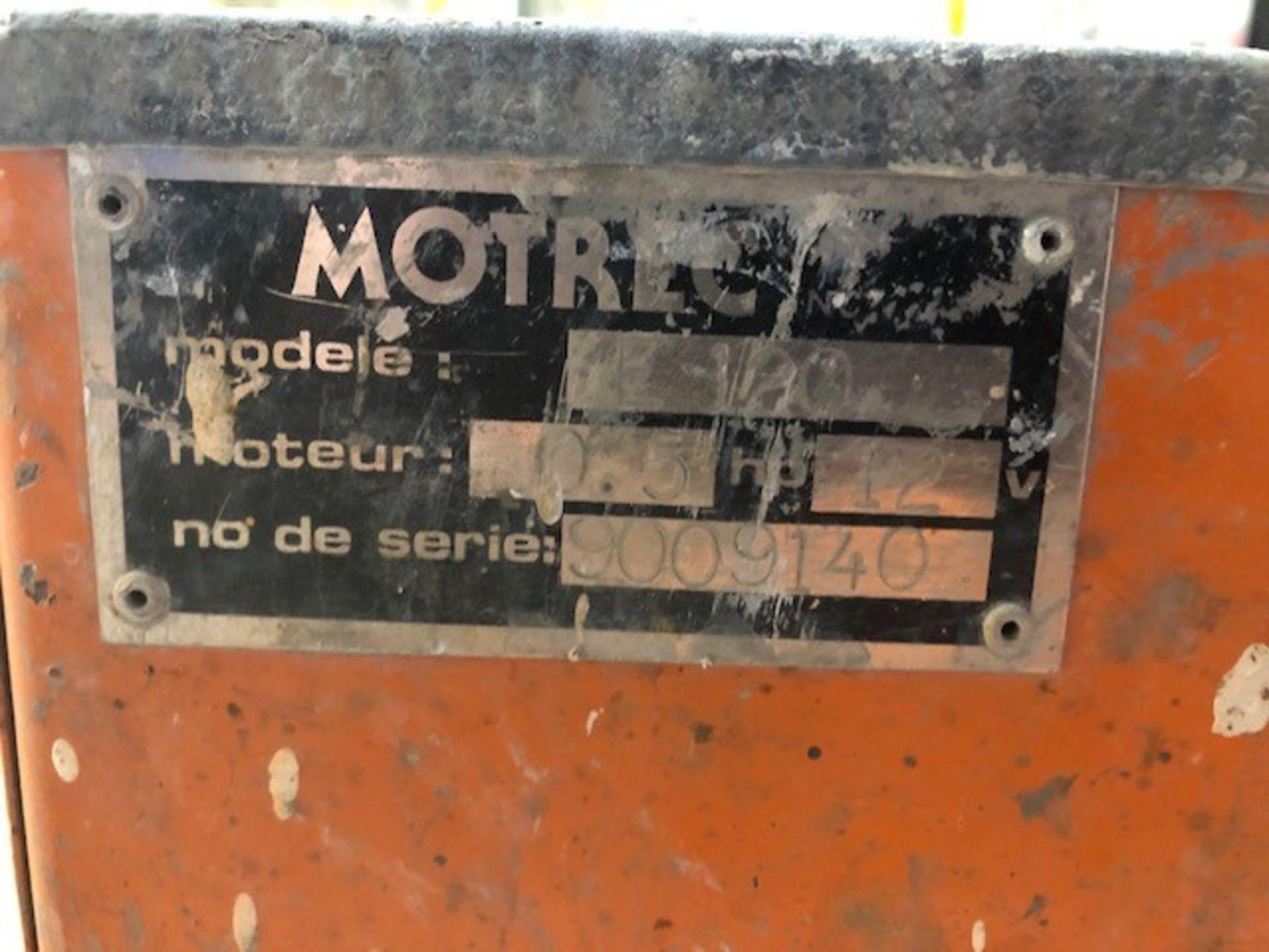 Lot 54 - Buggy Motrec, Model: E120, s/n: 9009140 (#233)