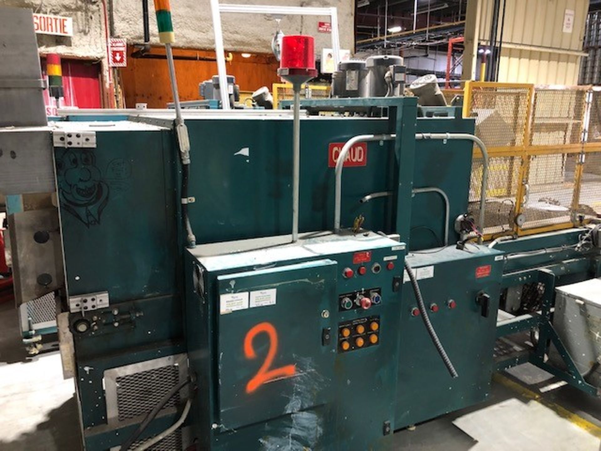 Lot 37 - Plastic shrink wrapper applicator and heating tunnel #2 Ideal Equipment, model: 1830, s/n: 1295067