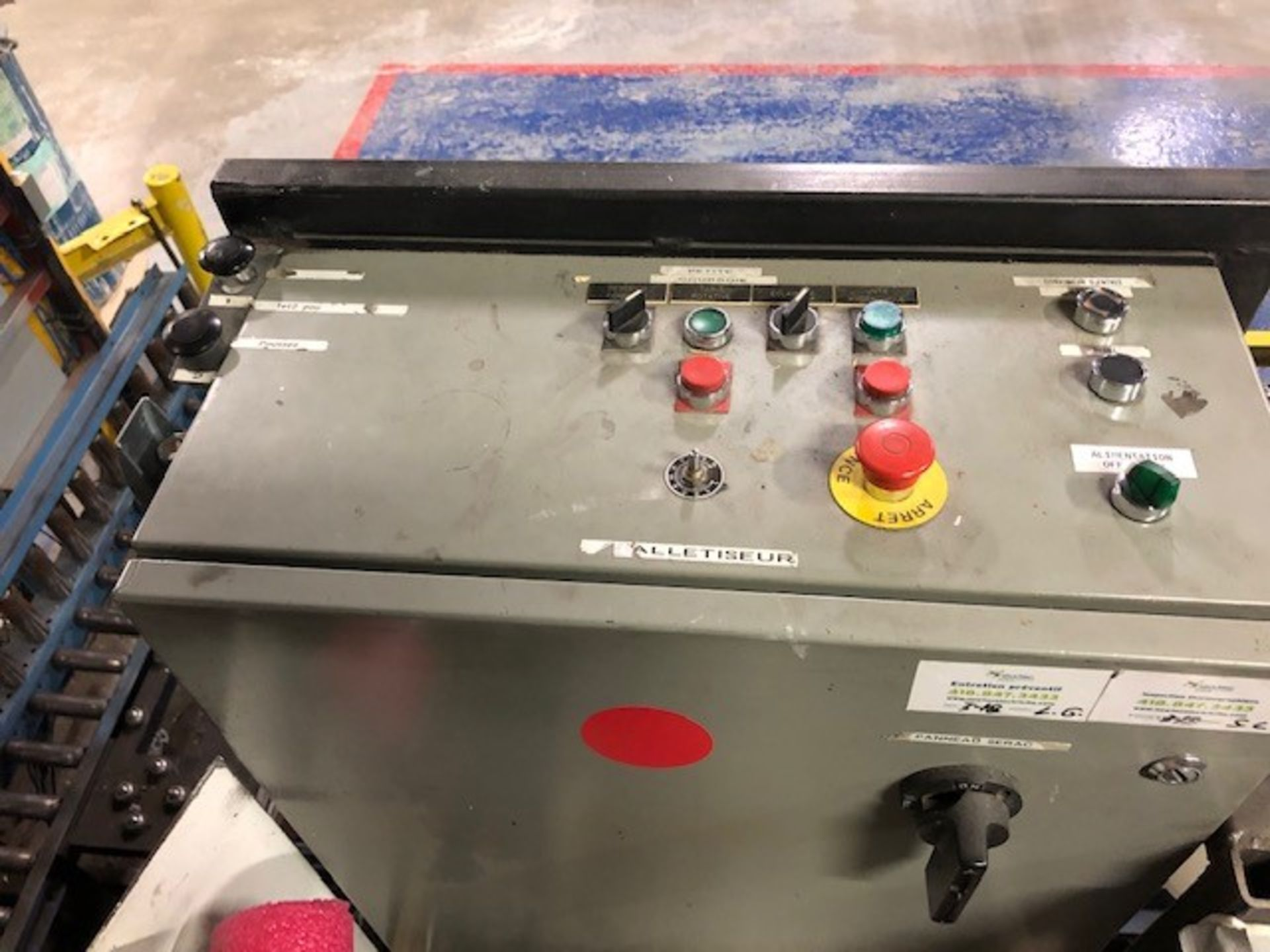 Hydraulic Pallet unloader (dePalletizer Serac) Fabrication PM.