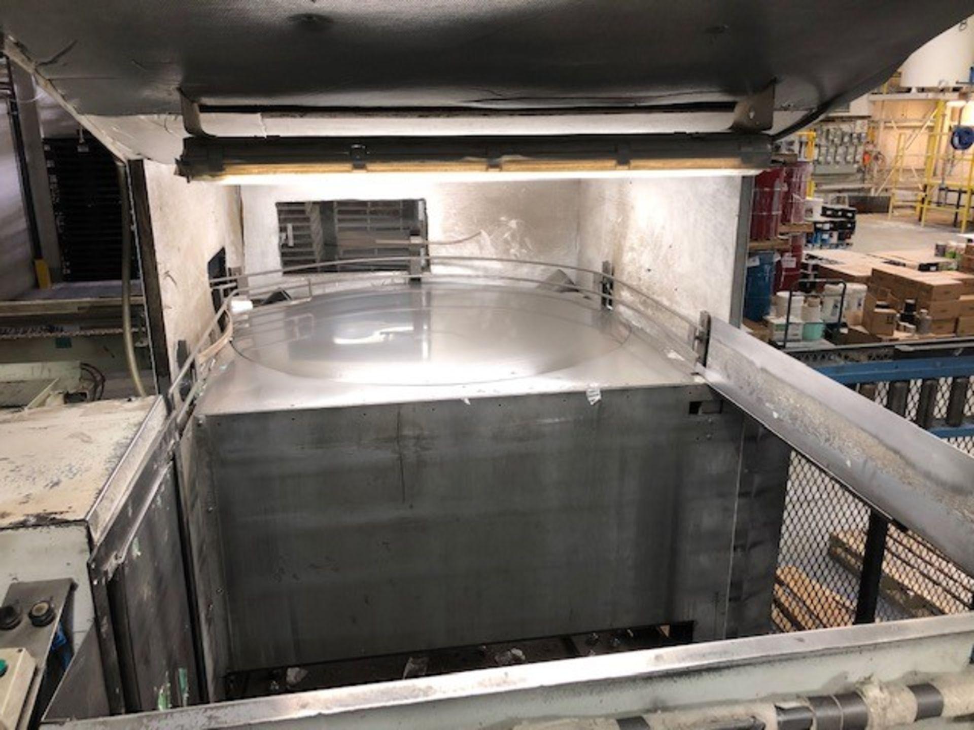 Hydraulic Pallet unloader (dePalletizer Serac) Fabrication PM. - Image 2 of 3