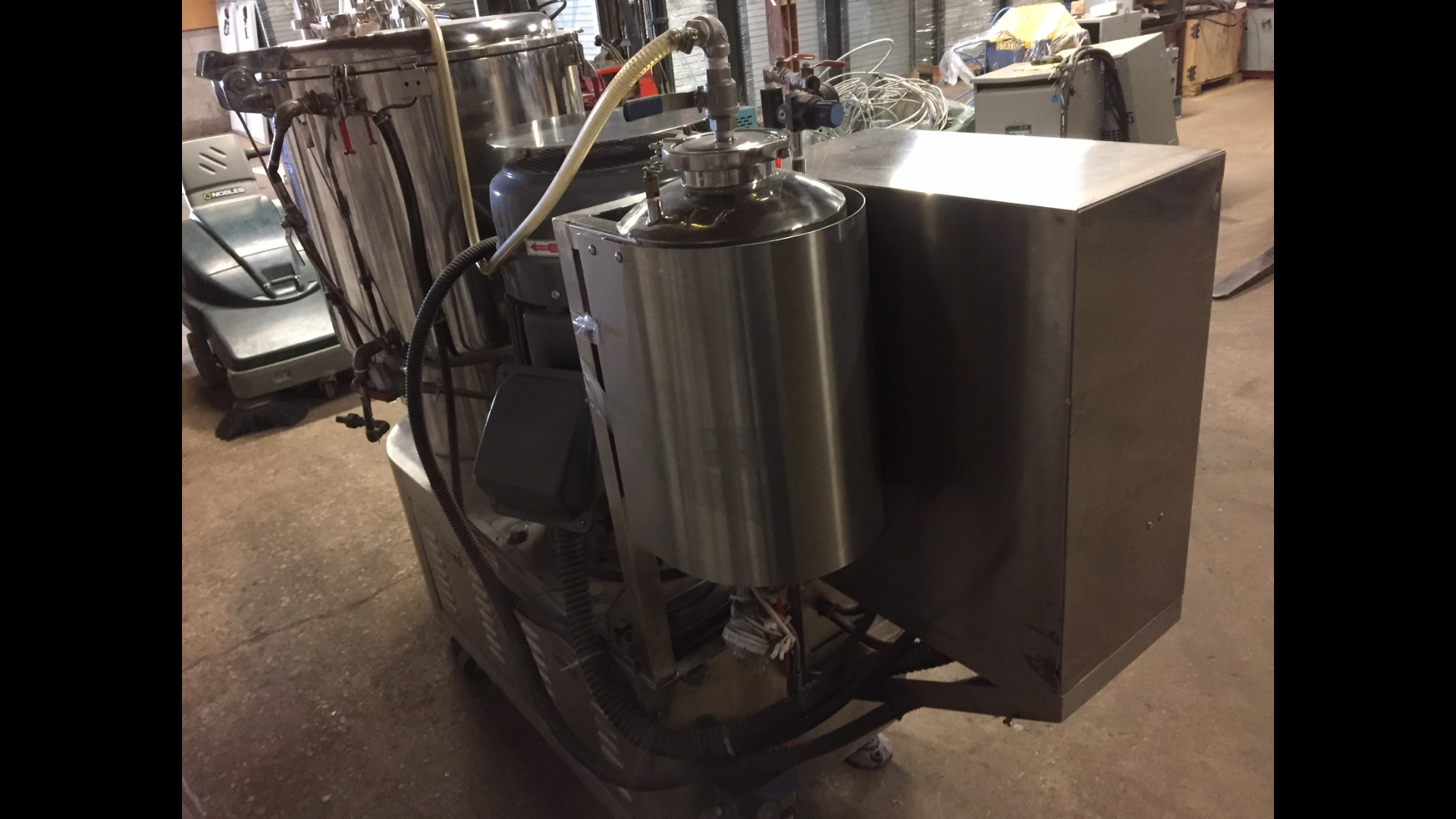 Lot 29 - MINOGA (HS-HMP100) 125L HIGH SPEED SHEAR/GRANULAR MIXERDESIGNED FOR THE INTENSIVE MIXING AND