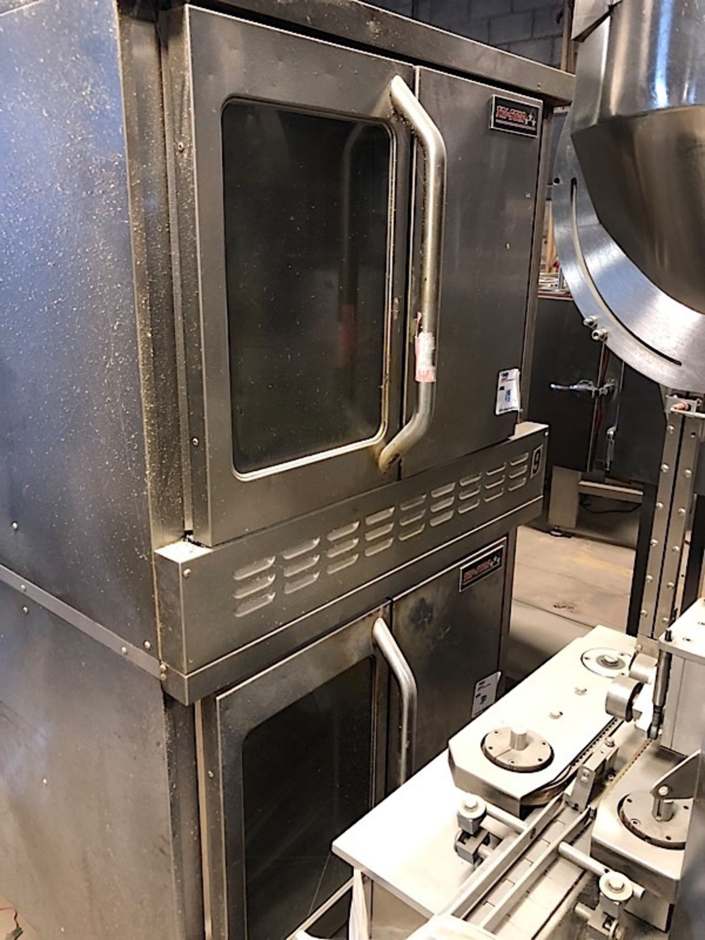 Lot 38A - TRI-STAR DOUBLE OVEN