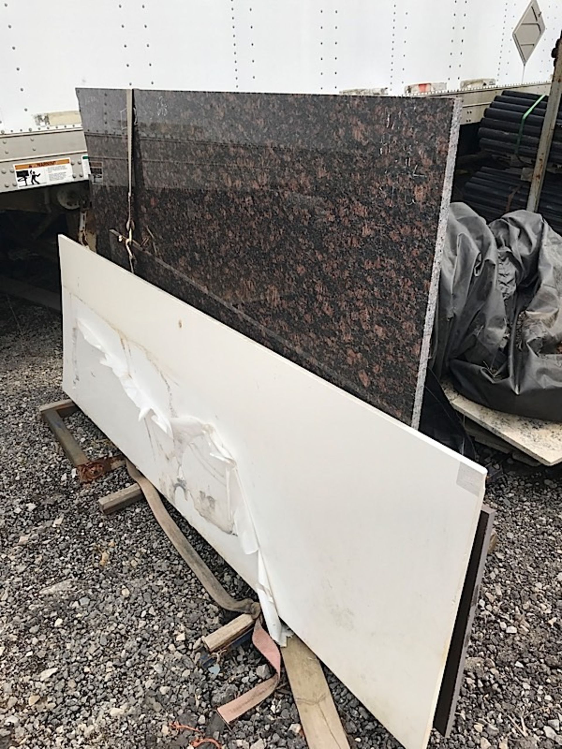 Lot 41 - LOT OF GRANITE SLABS
