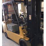 Lot 55 - Caterpilar (GC30) 6,000 lbs LPG Forklift