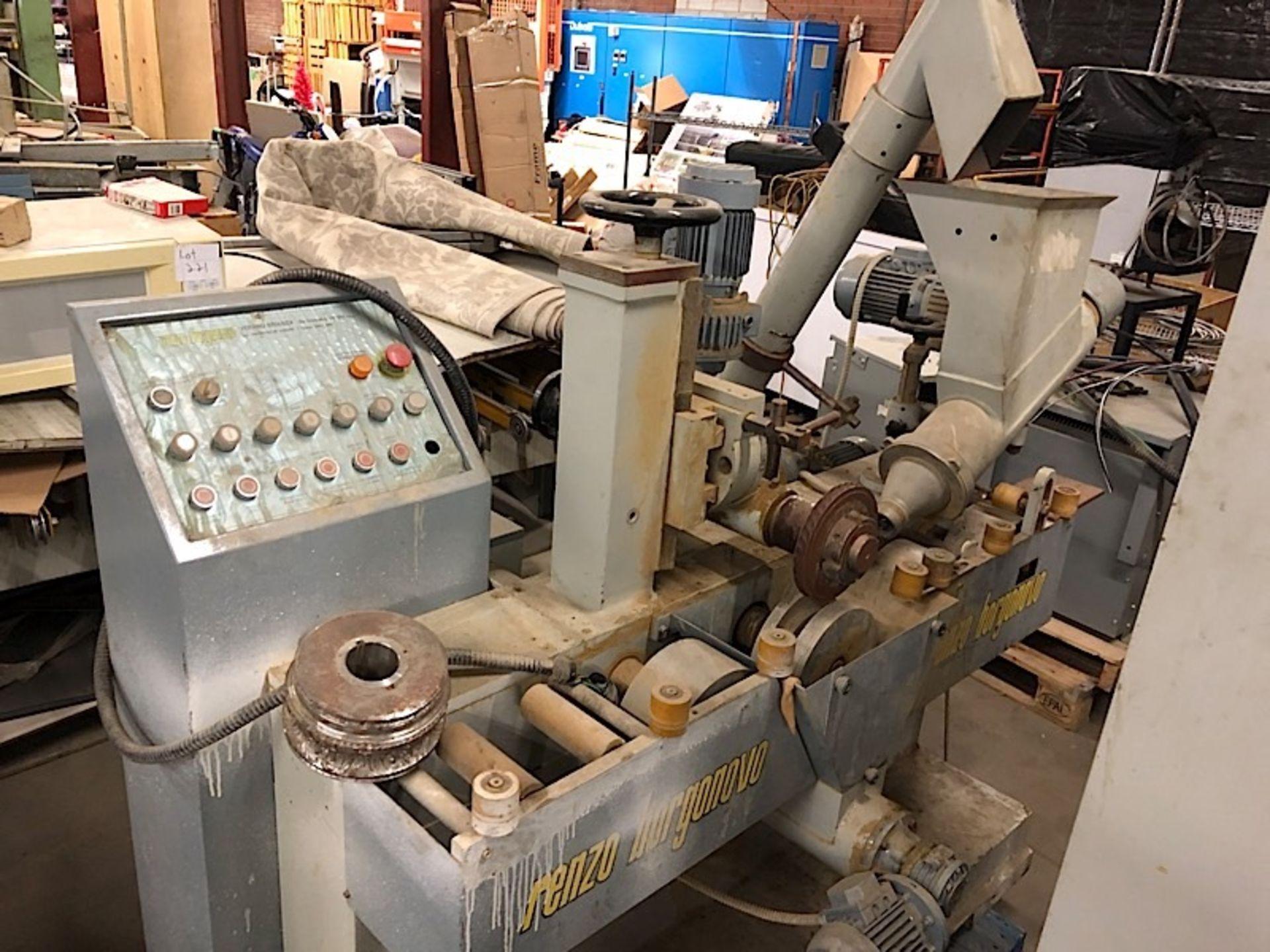 Lot 7 - RENZO BORGONOVO EMBOSSING MACHINE