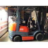 Lot 51 - Toyota (42-6FGCU25) 5,000 lbs. cap LPG Forklift