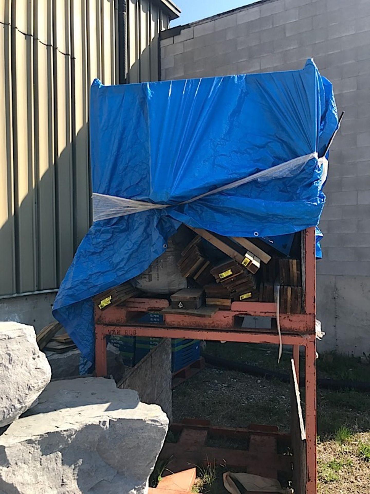 Lot 47 - ORANGE STEEL RACK