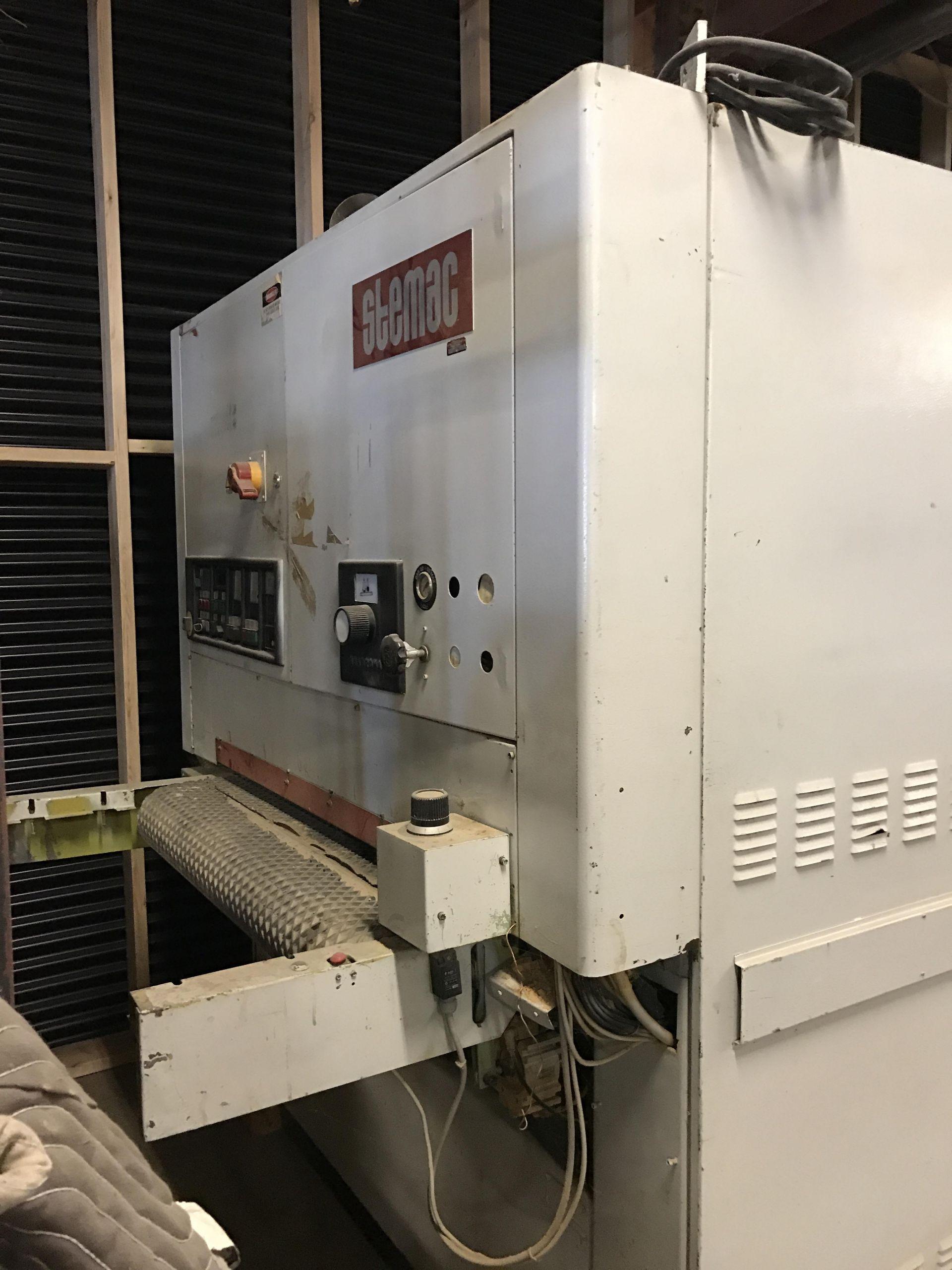 Lot 4 - STEMAC WIDE BELT SANDER