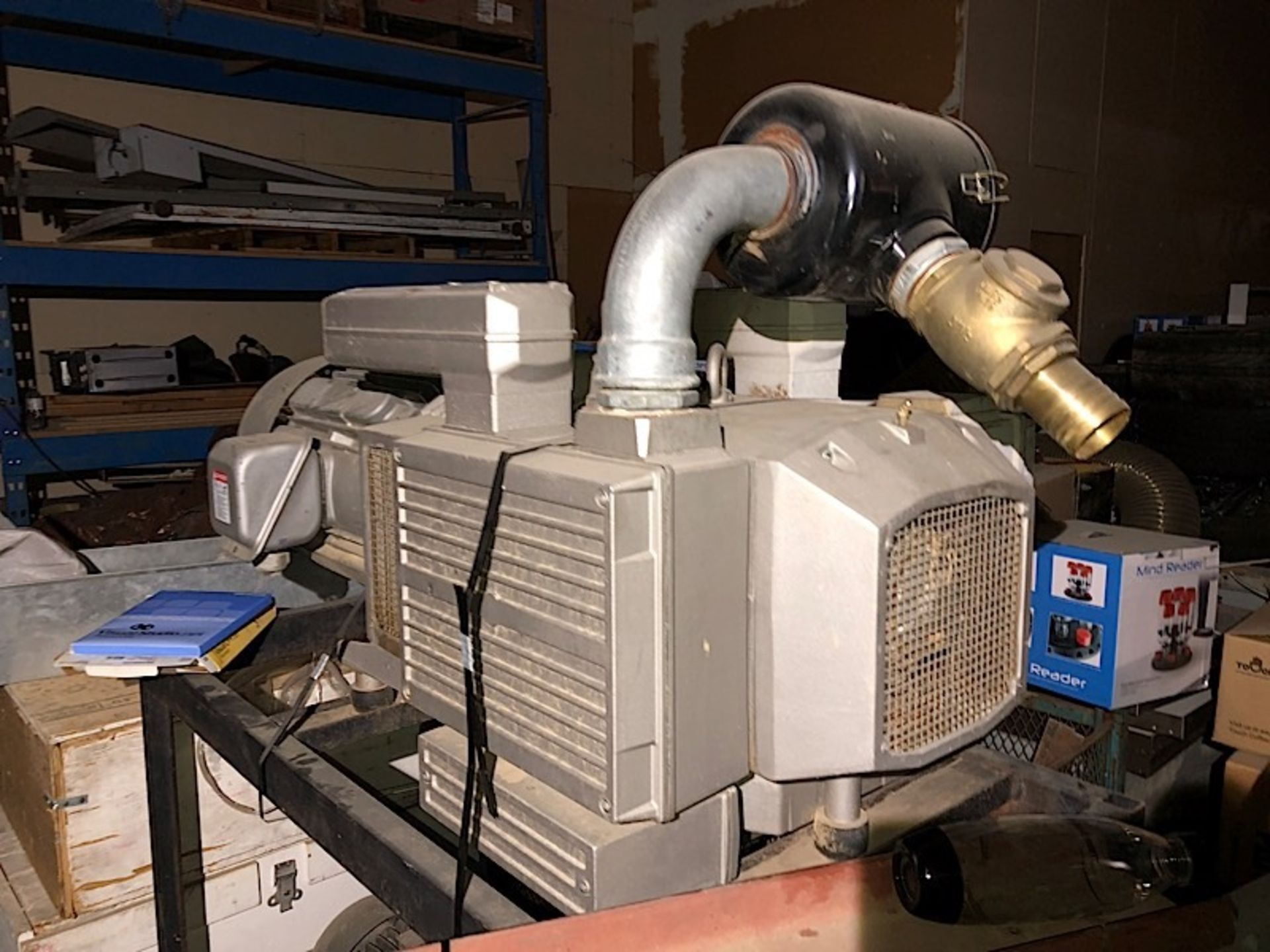 Lot 17 - BECKER (VTLF 250 SK) 10HP VACUUM PUMP