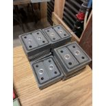 LOT OF PODS FOR FLAT TABLE CNC ROUTER