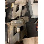 LOT OF 2 PNEUMATIC NAIL GUNS