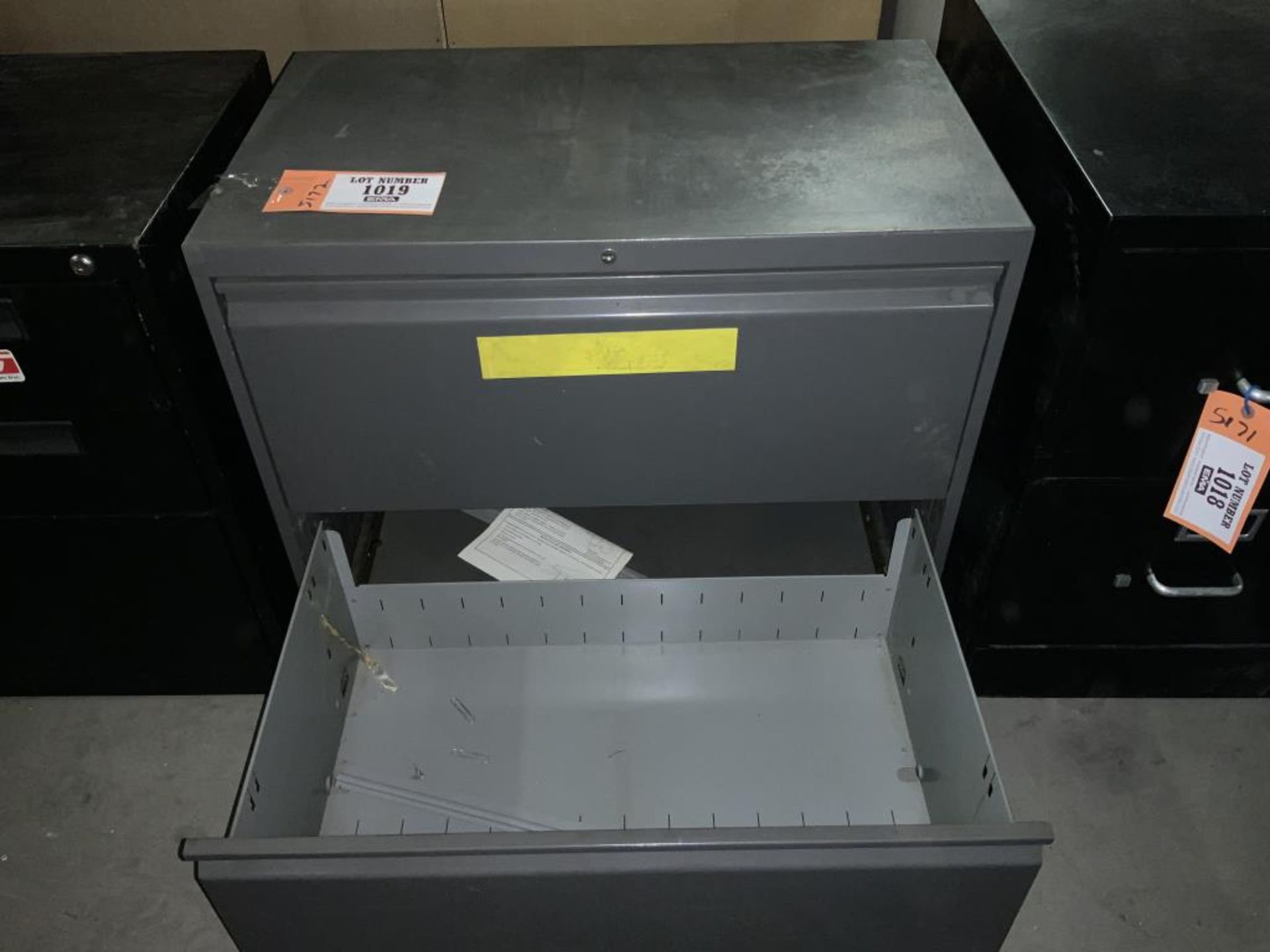 Lot 1019 - Lateral filing cabinet
