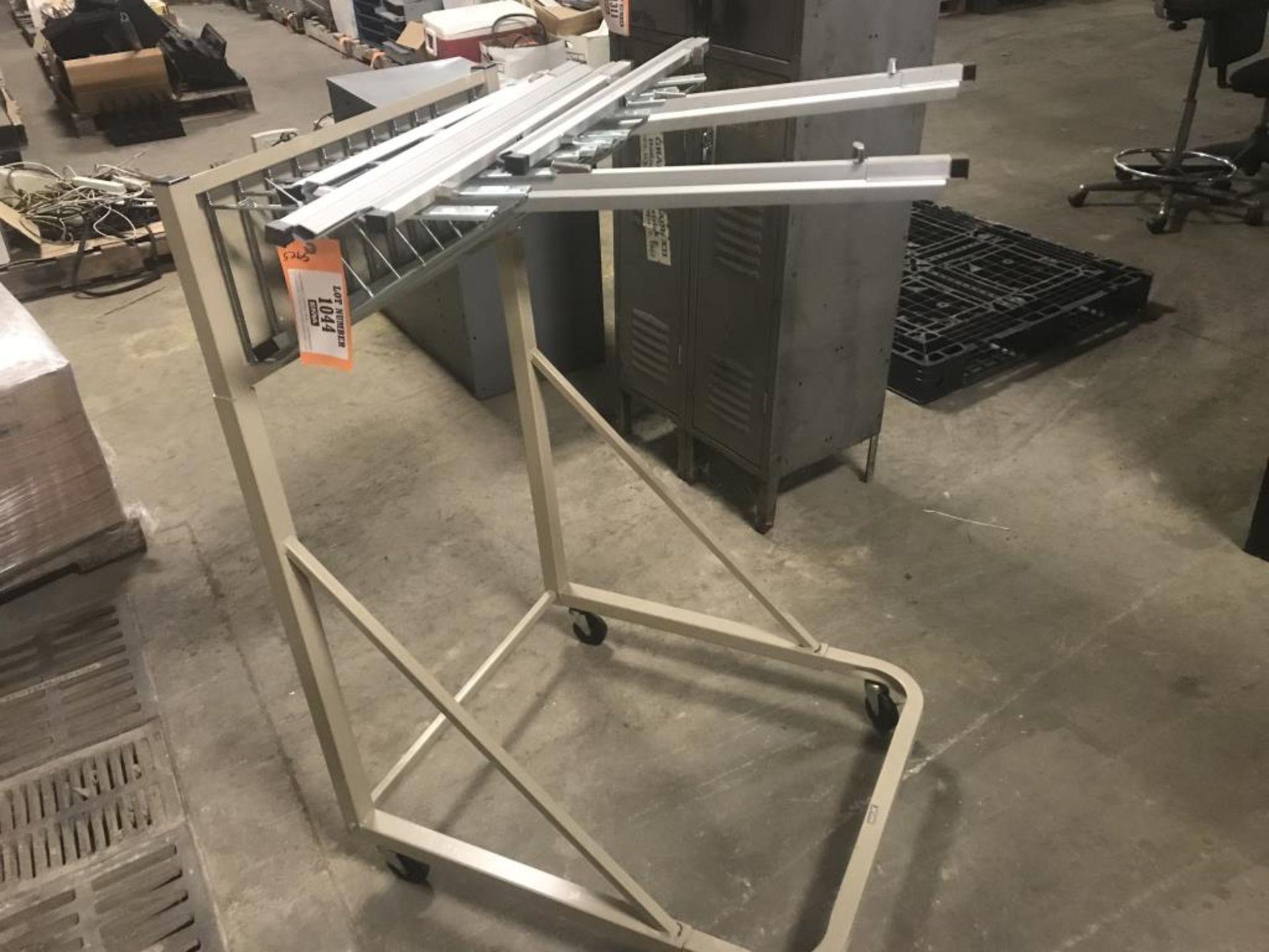 Lot 1044 - Blueprint rack