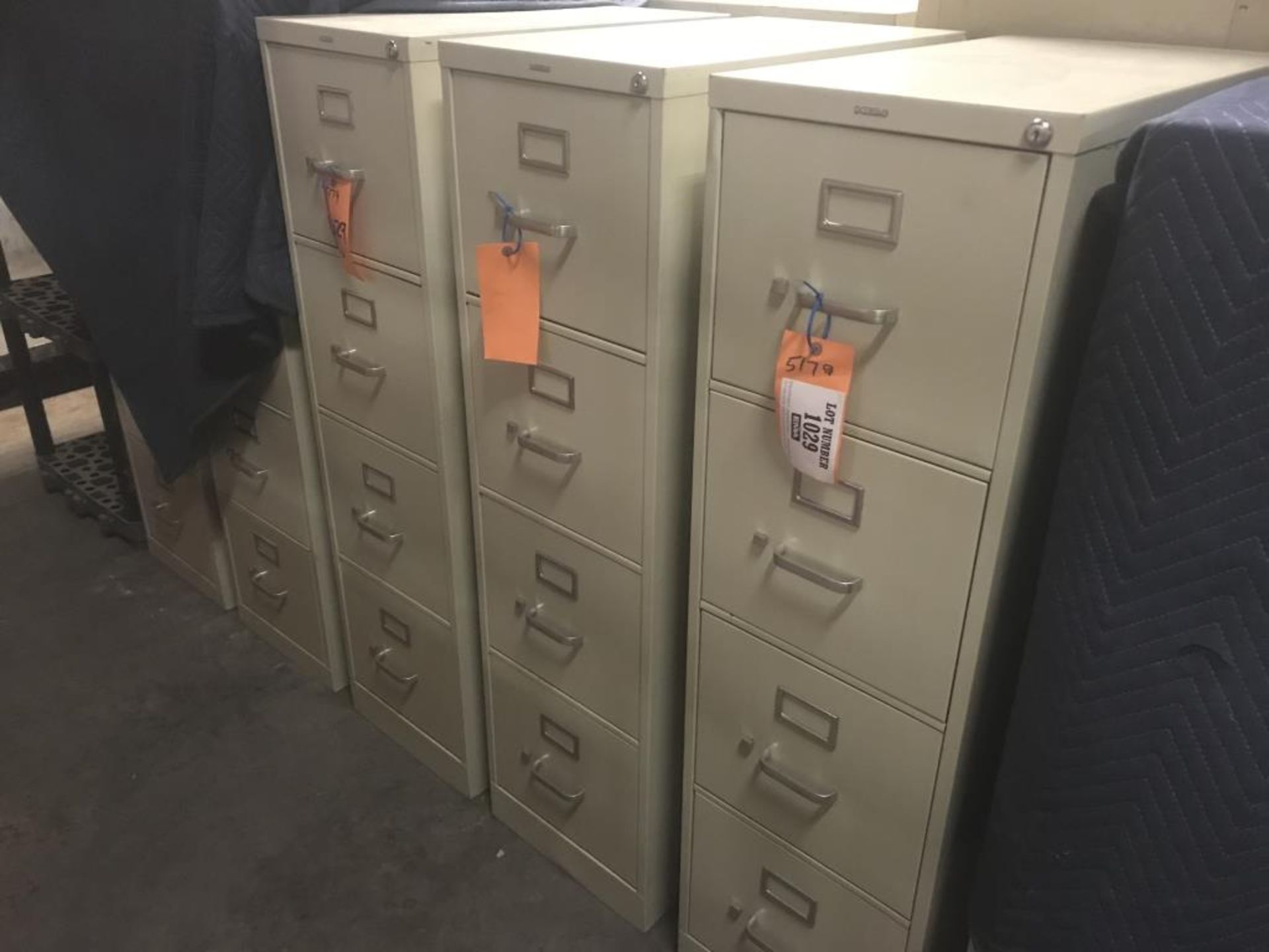 Lot 1029 - Four drawer file cabinet