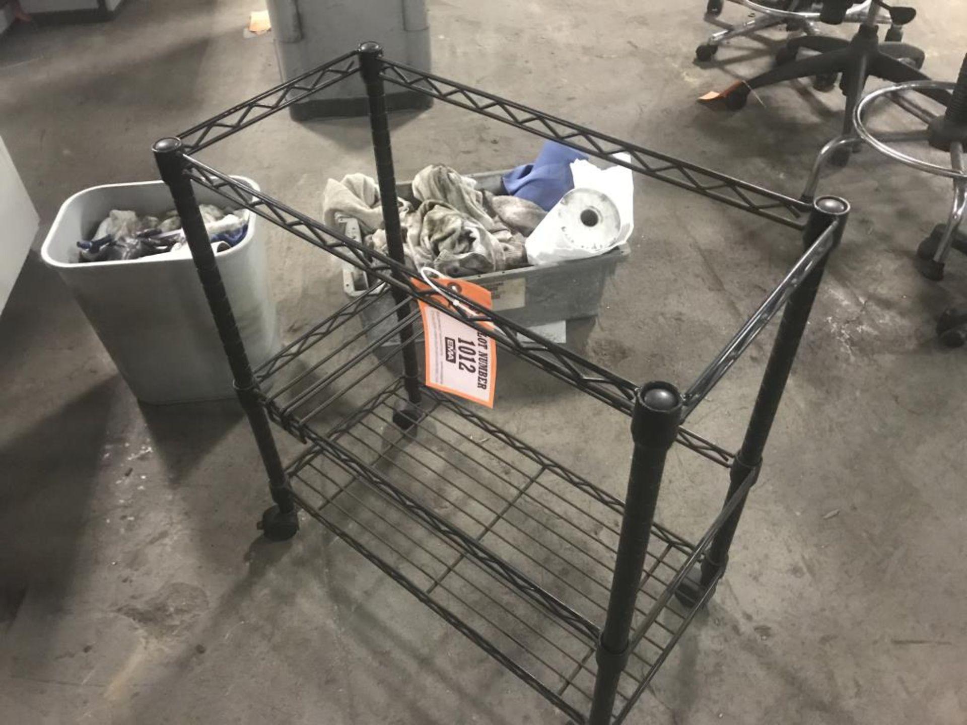 Lot 1012 - Storage rack