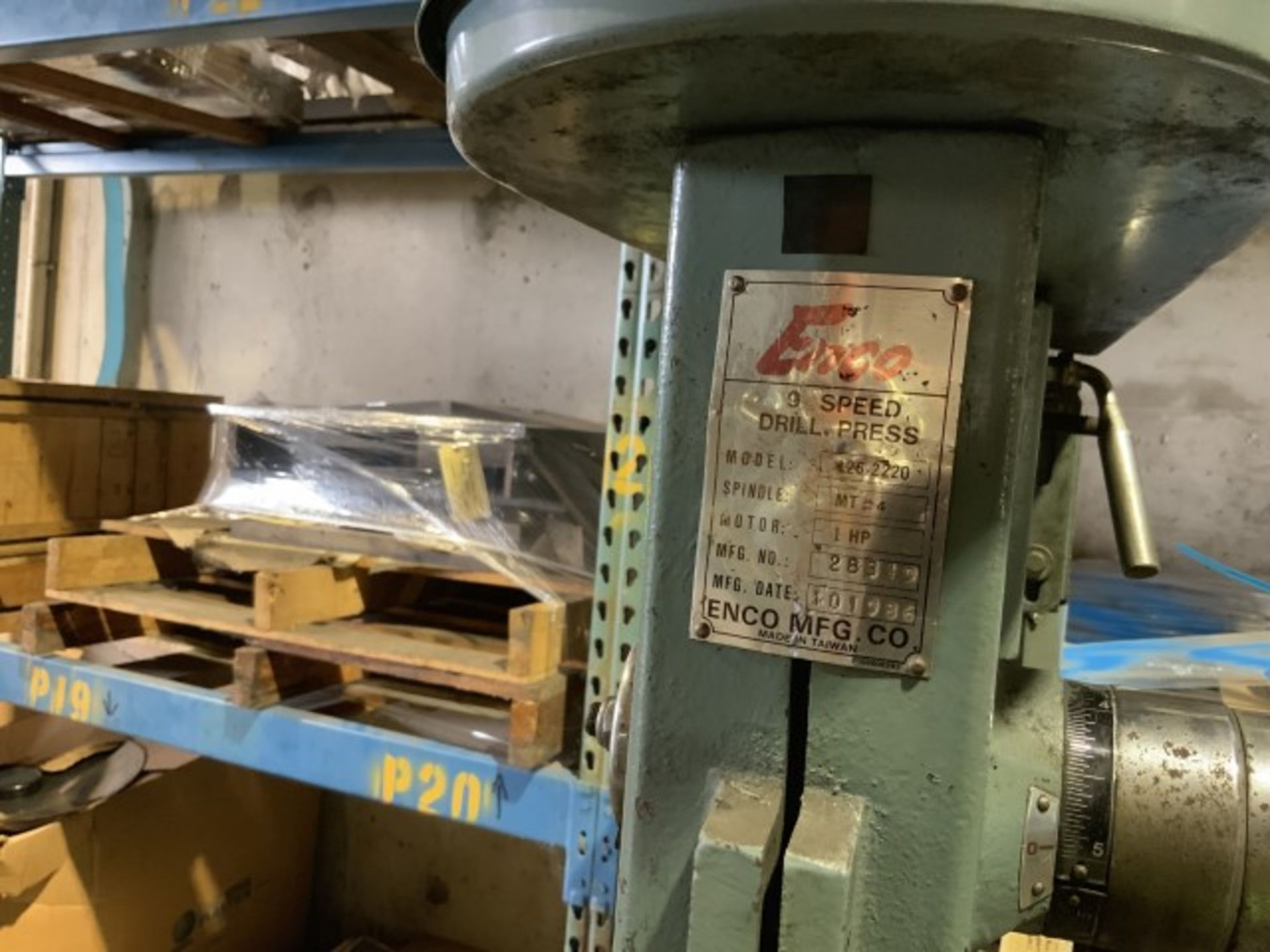 Lot 1396 - Drill press