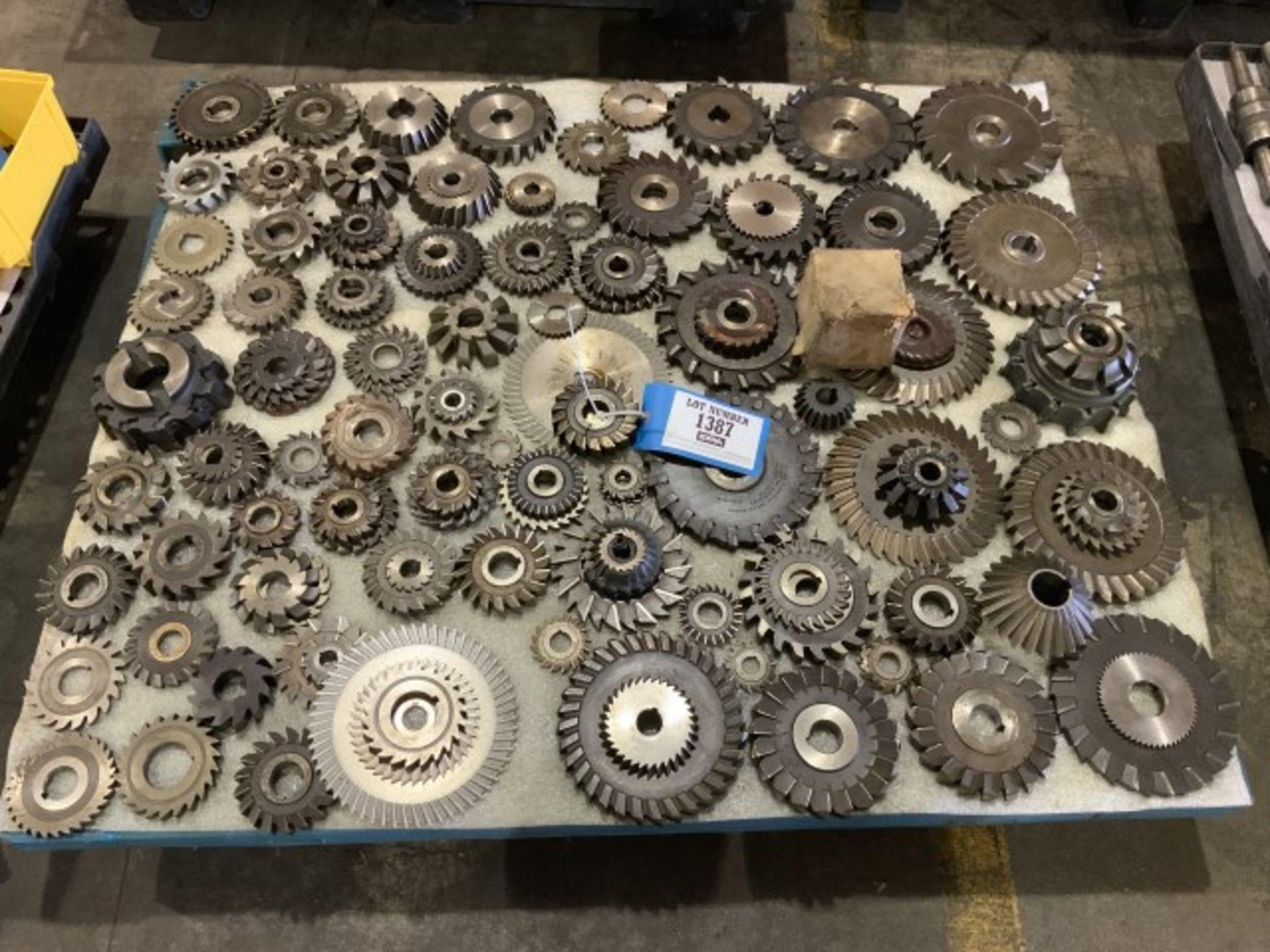 Lot 1387 - Perishable tooling
