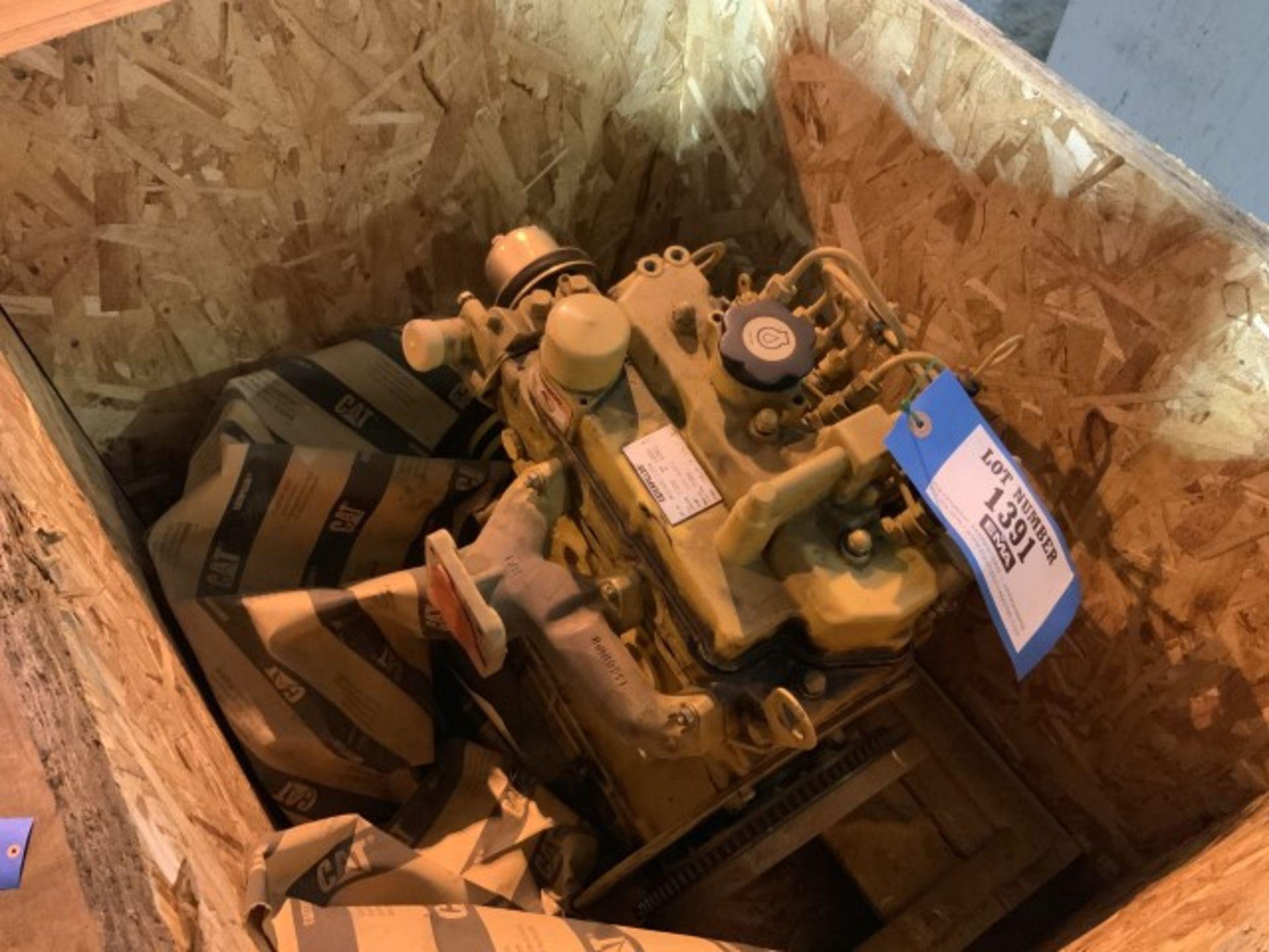 Lot 1391 - Diesel power engine