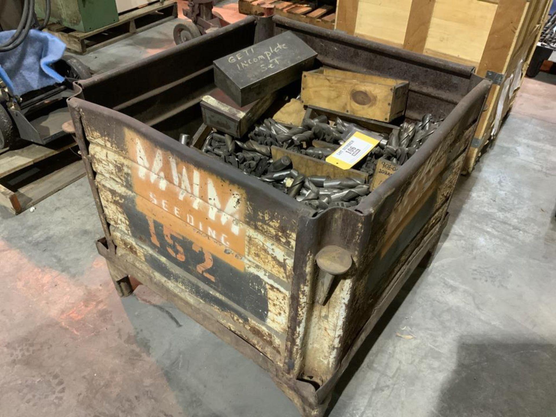 Lot 106 - Assorted perishable tooling
