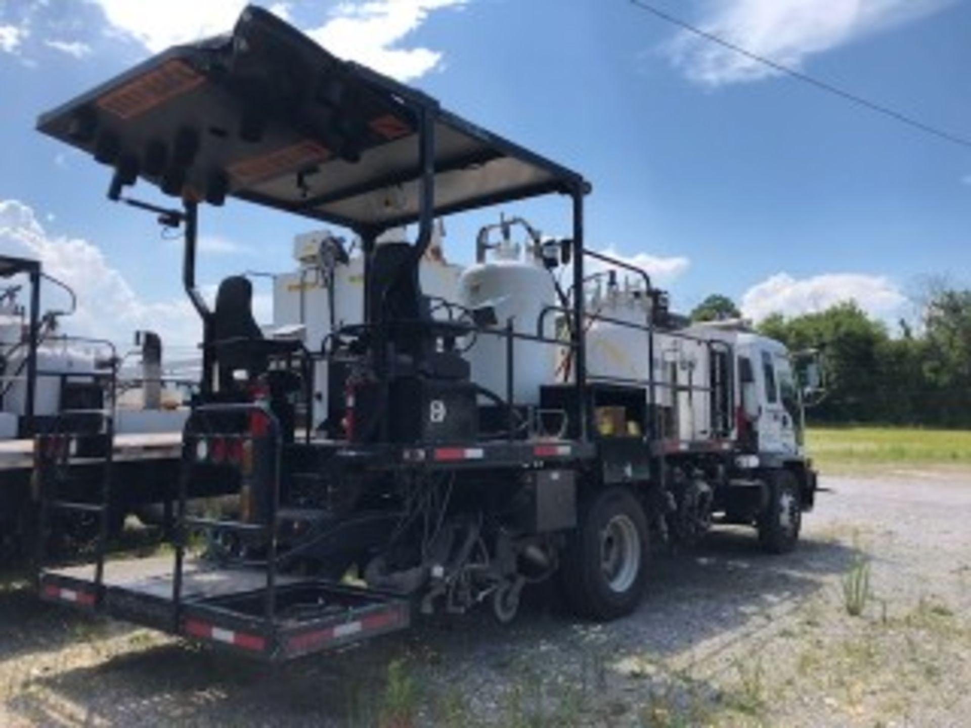 Lot 1 - 2017 MRL Model 1-165-AA Striping Unit s/n 17115, Mounted on 2001 GMC T6500 VIN 1GDK7C1CX1J505954