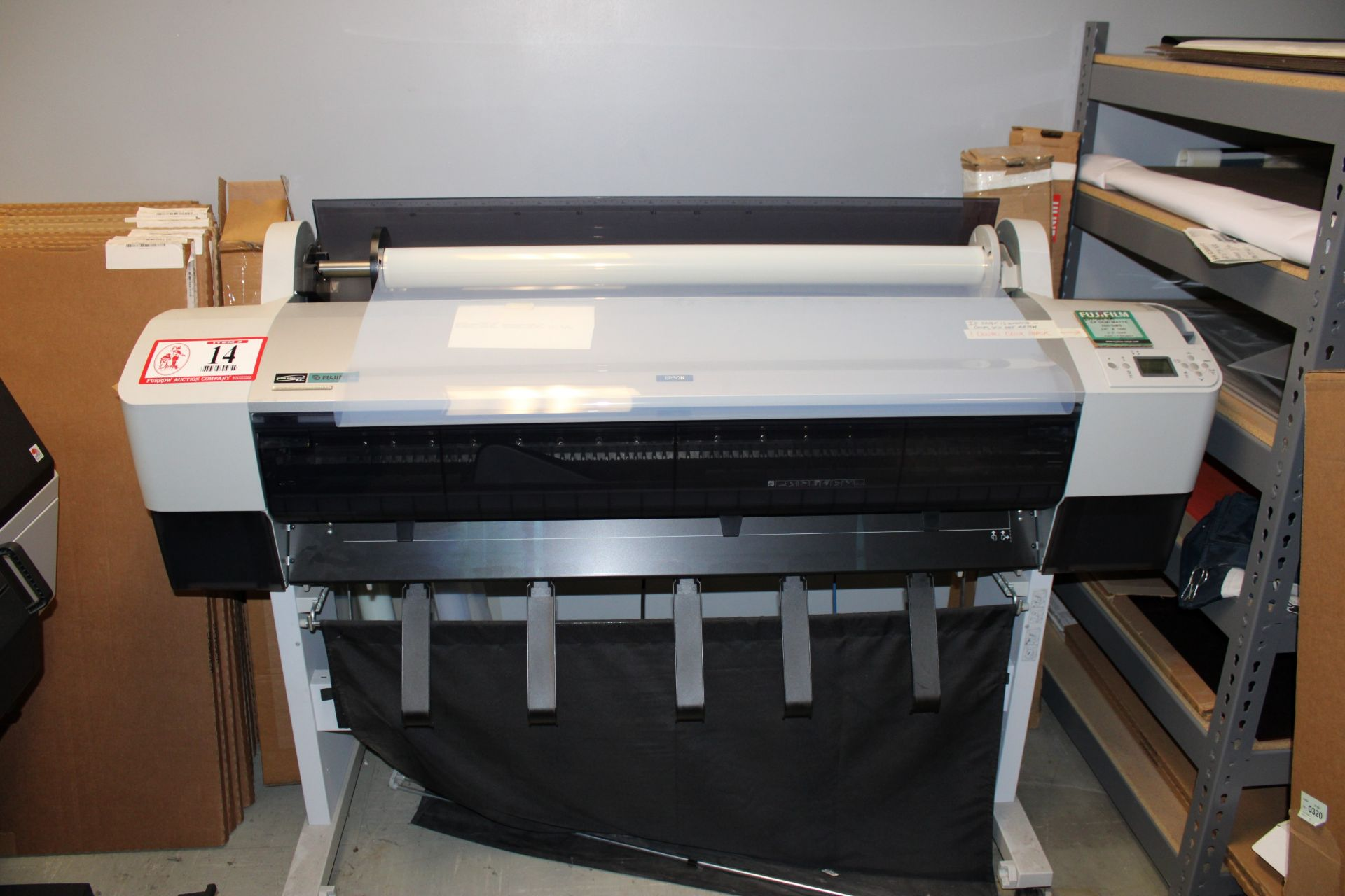 Lot 14 - EPSON Stylus Pro 9800 Wide Format Printer - All Black For Positives For Silk Screen