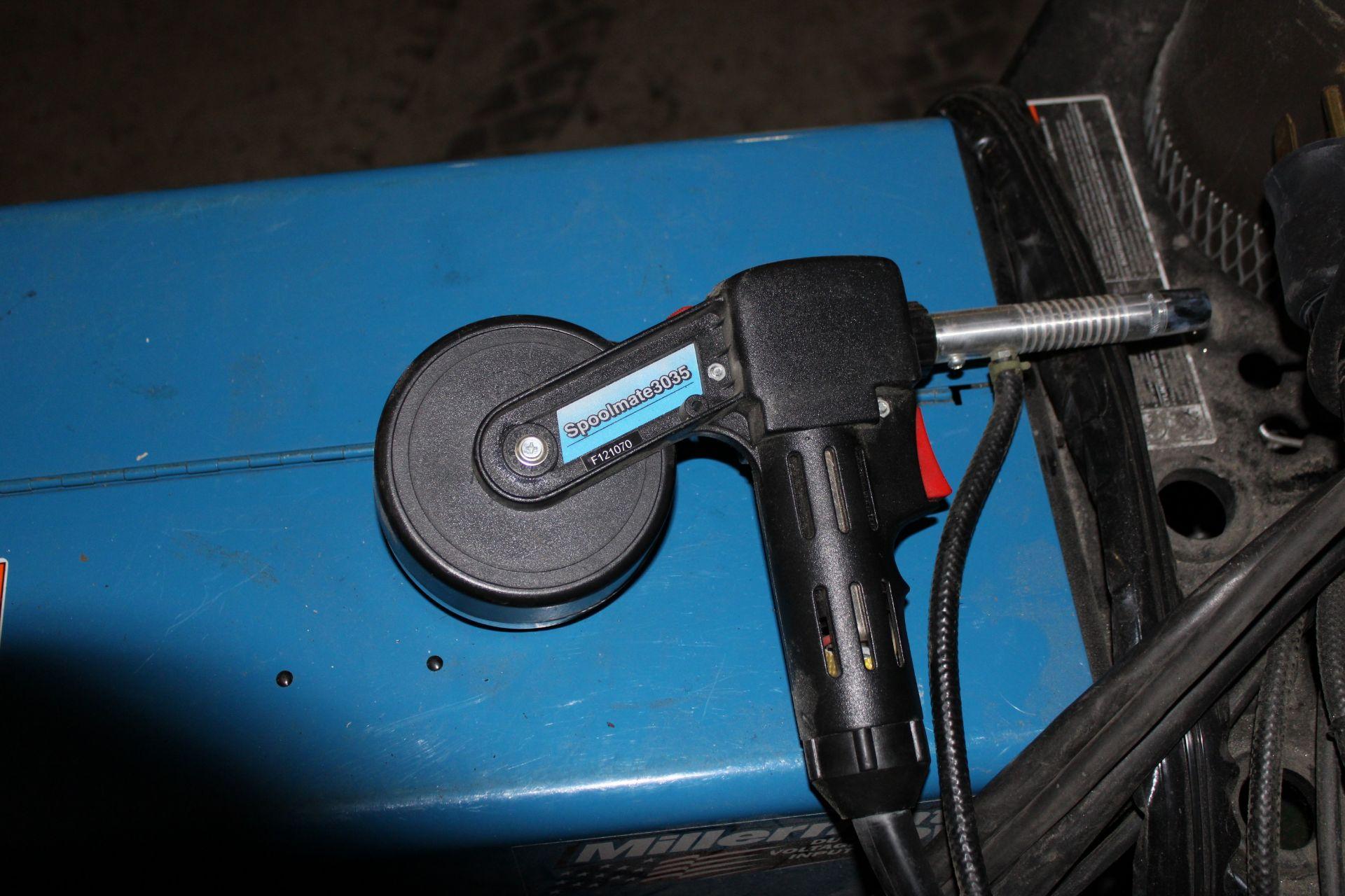 Lot 11 - Millermatic DVI 150 Amp Wire Feed Welder w/ Spool Gun