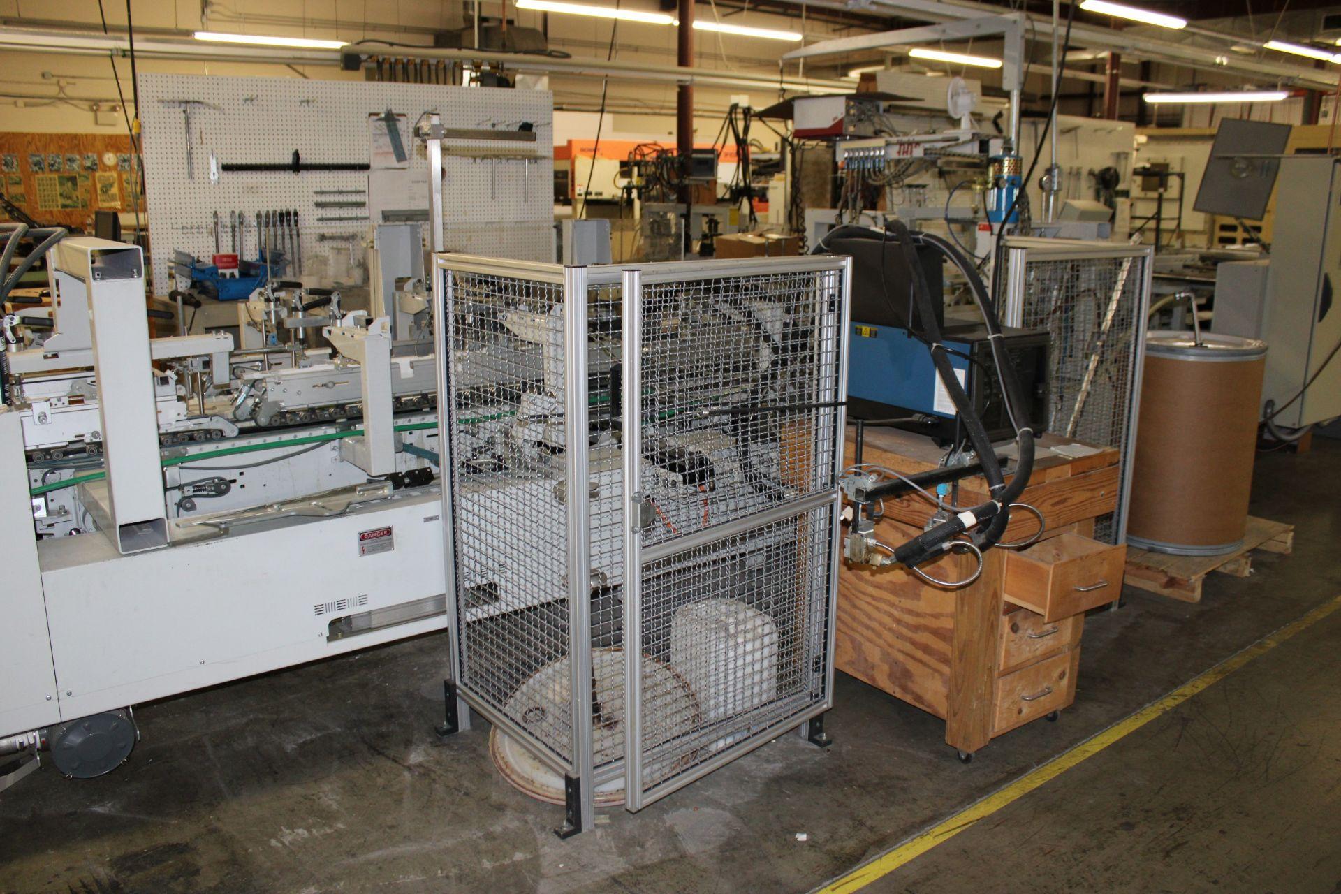 Lot 35 - 2005 BOBST Fuego 110A2 Folder/Gluer s/n 0356-0028-02 w/ Backfold 16 Channel Gluer