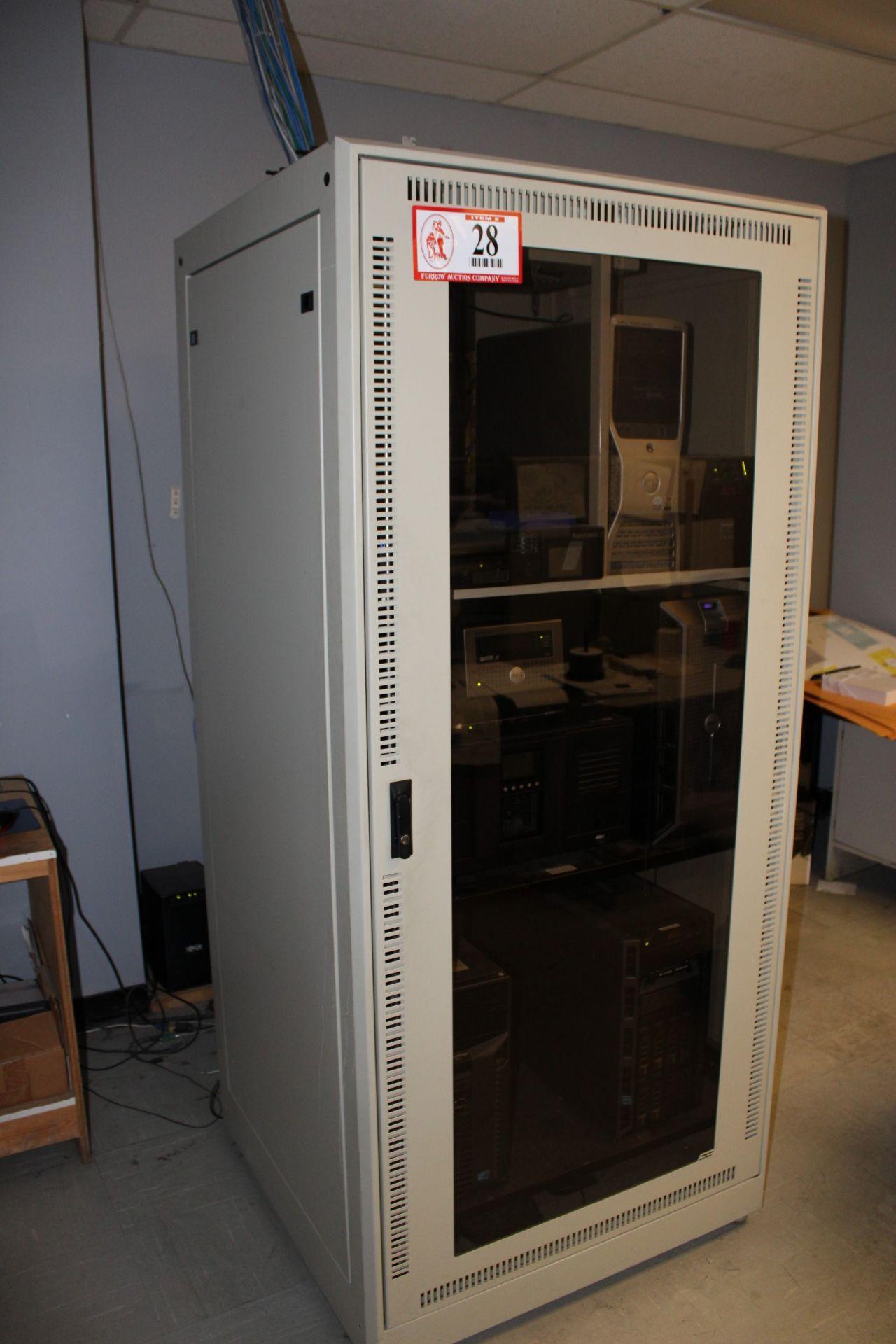 Lot 28 - Server Cabinet