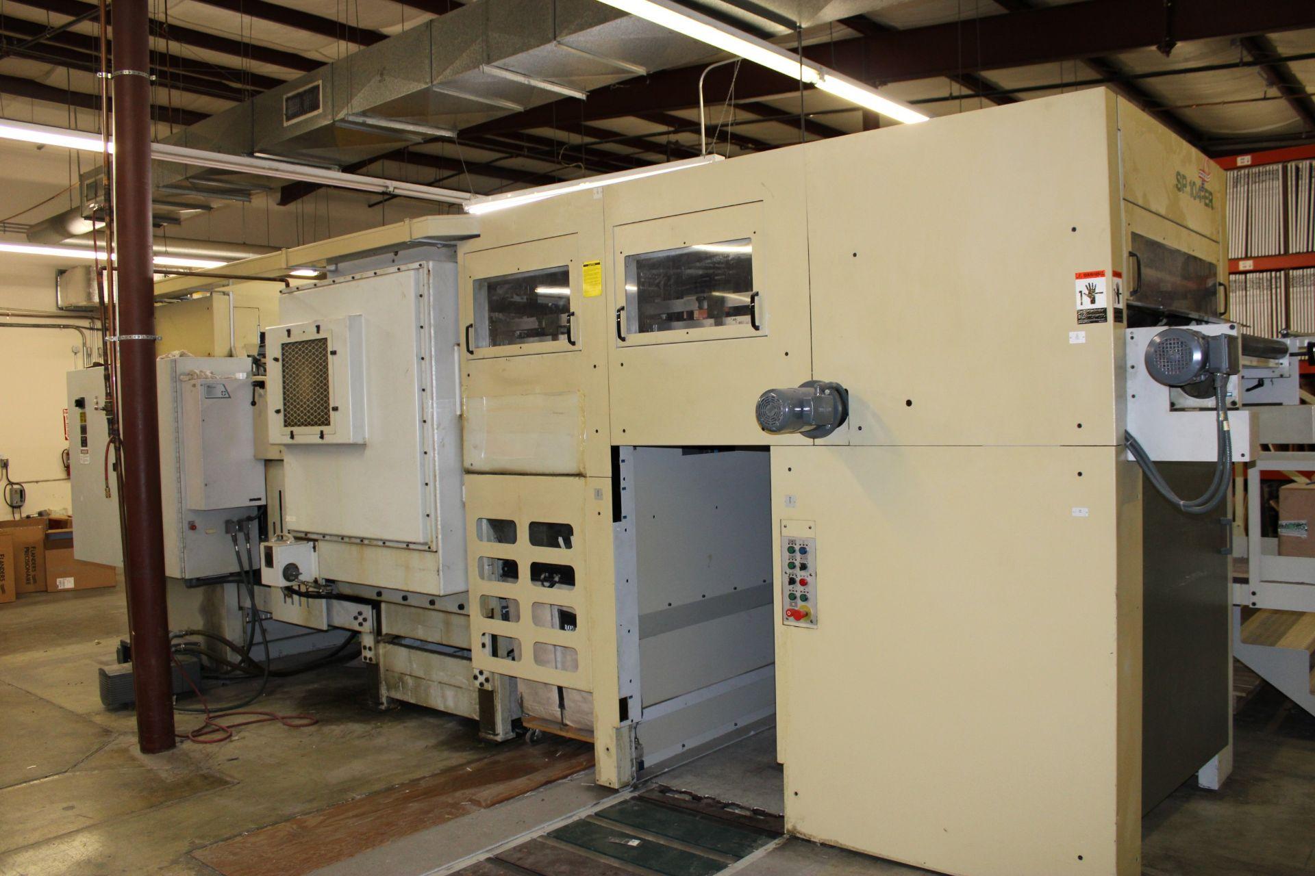 Lot 32 - 1999 BOBST SP104-ER Automatic Die Cutter/Blanker s/n 053104404