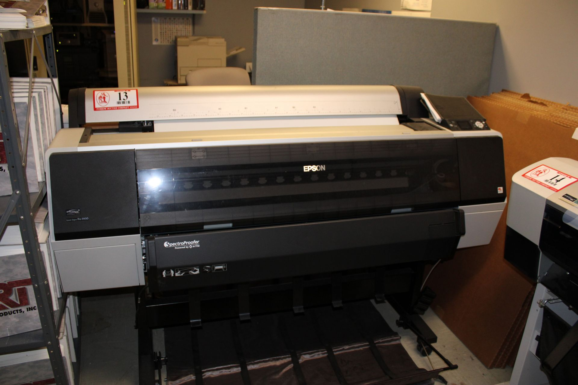 Lot 13 - EPSON Stylus Pro 9900 Wide Format Printer w/ Spectral Proofer Powered by X-Rite