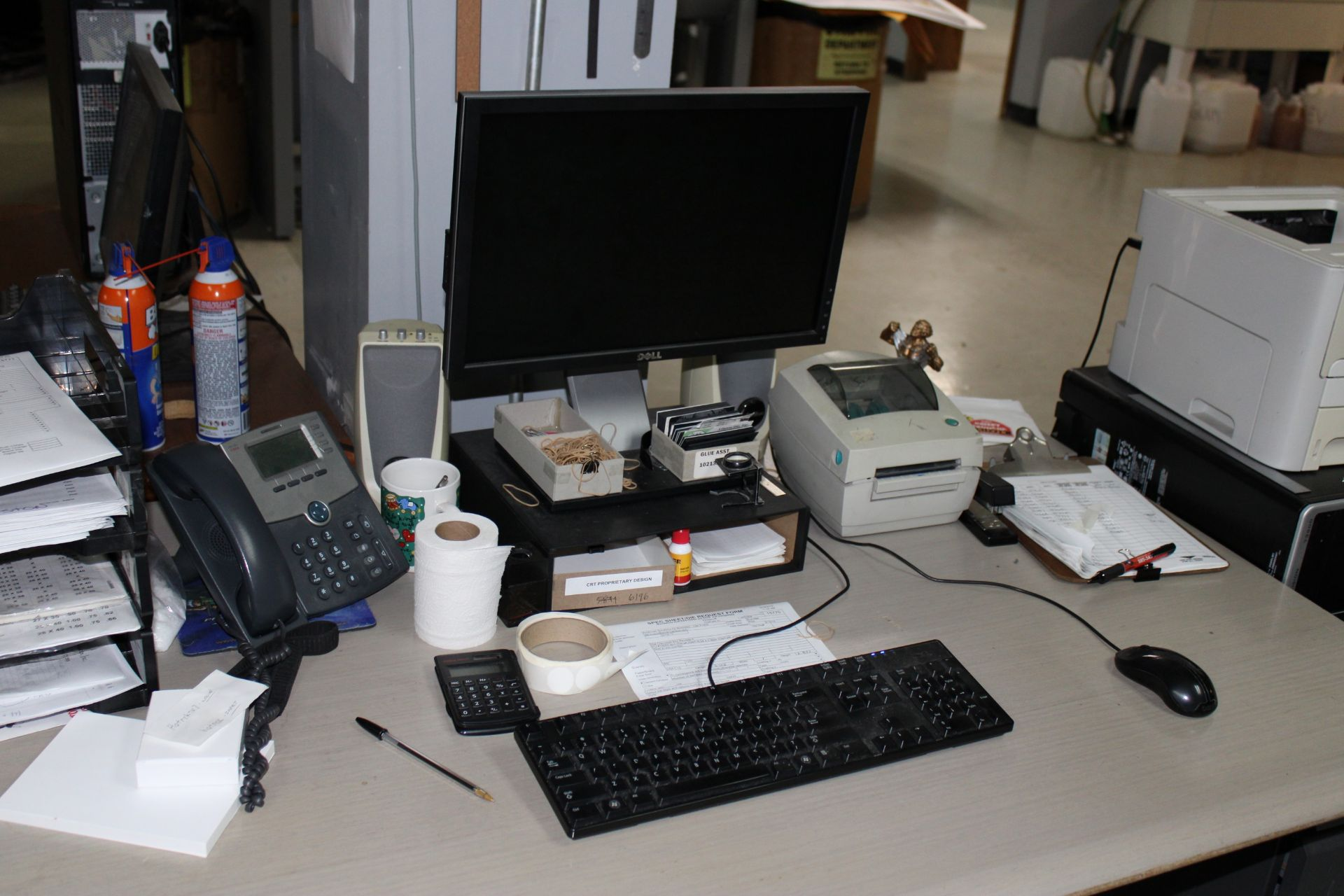 Lot 21 - 2007 ZUND Model M-800 Flatbed Cutter w/ Dell Precision T3500 Computer/Monitor/ Keyboard/Mouse w/