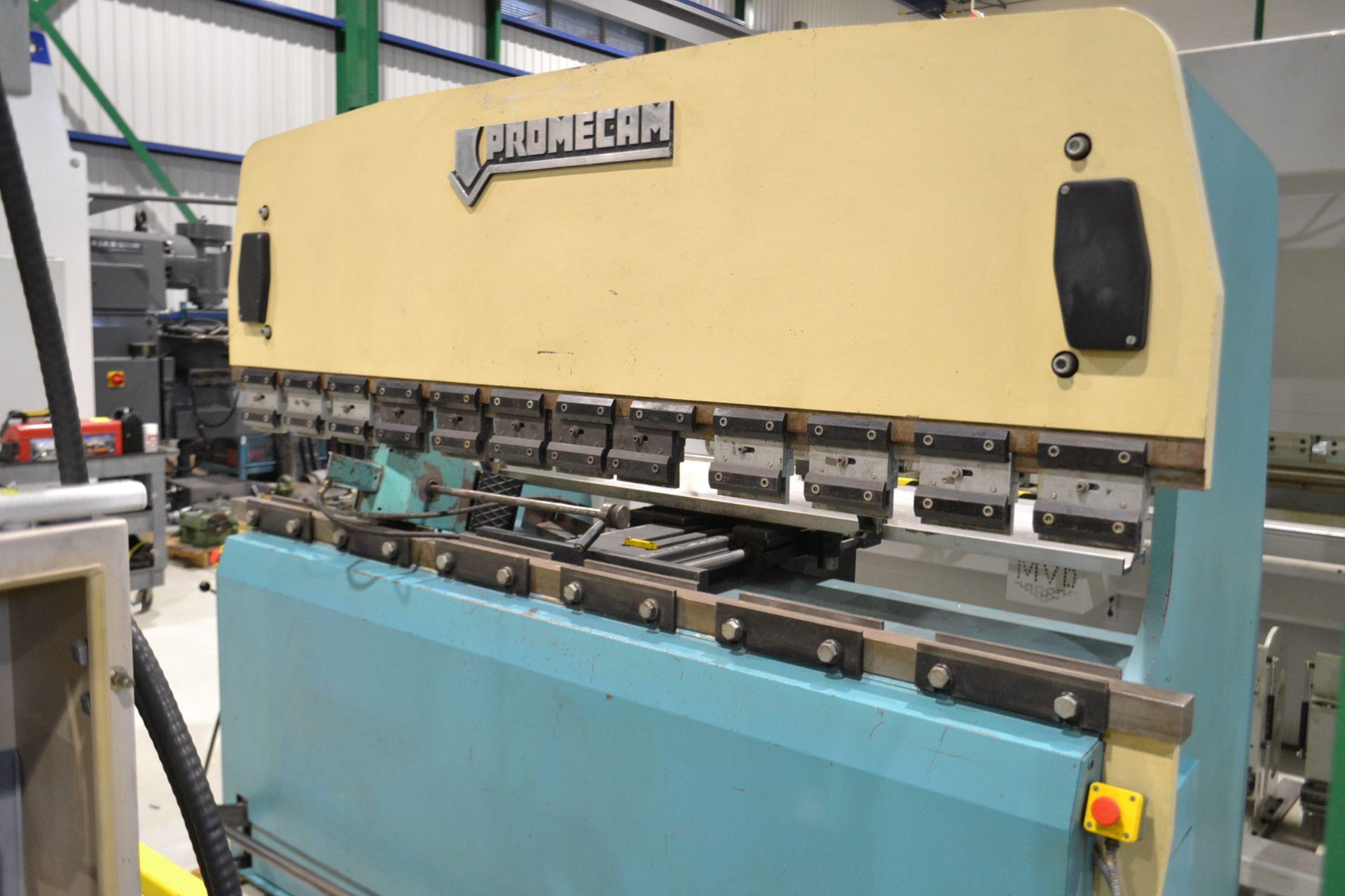 Lot 5 - PROMECAM PRESS BRAKE (CNC), MODE IT2-80-25, S/N IT208025304, 8' X 25 TON