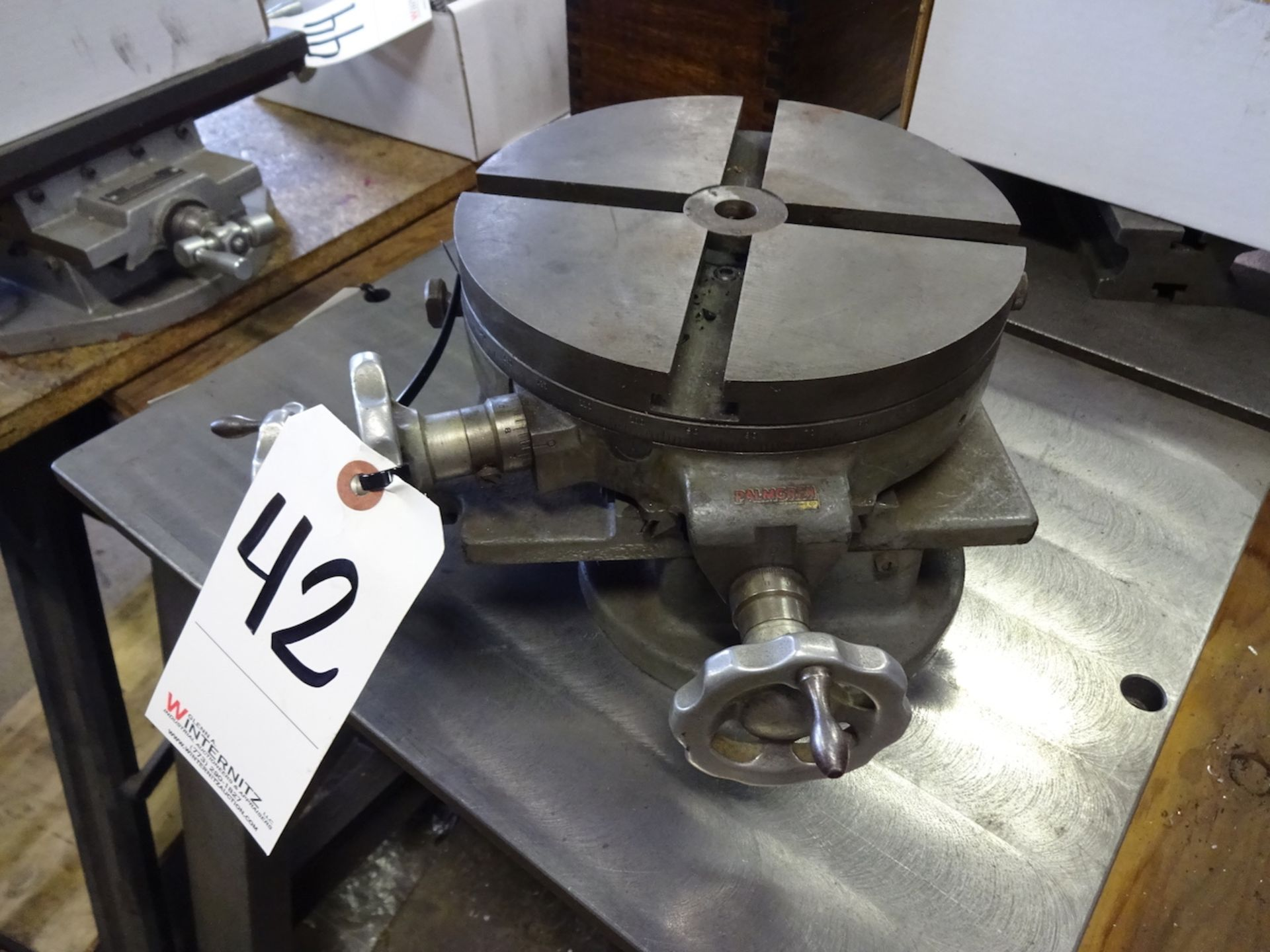 Lot 42 - PALMGREN 8 IN ROTARY TABLE