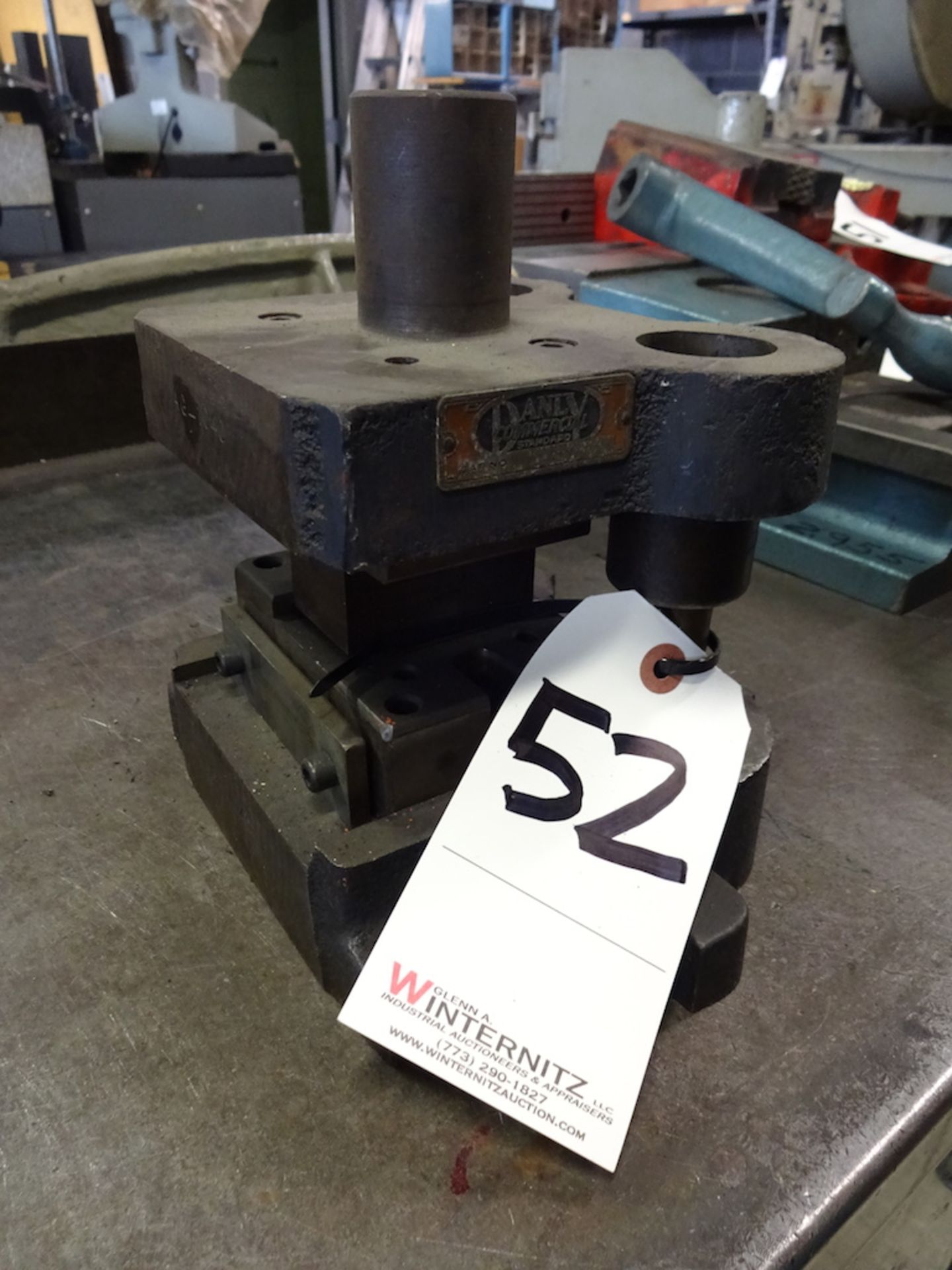 Lot 52 - DANLY COMMERCIAL STANDARD PRESS DIE