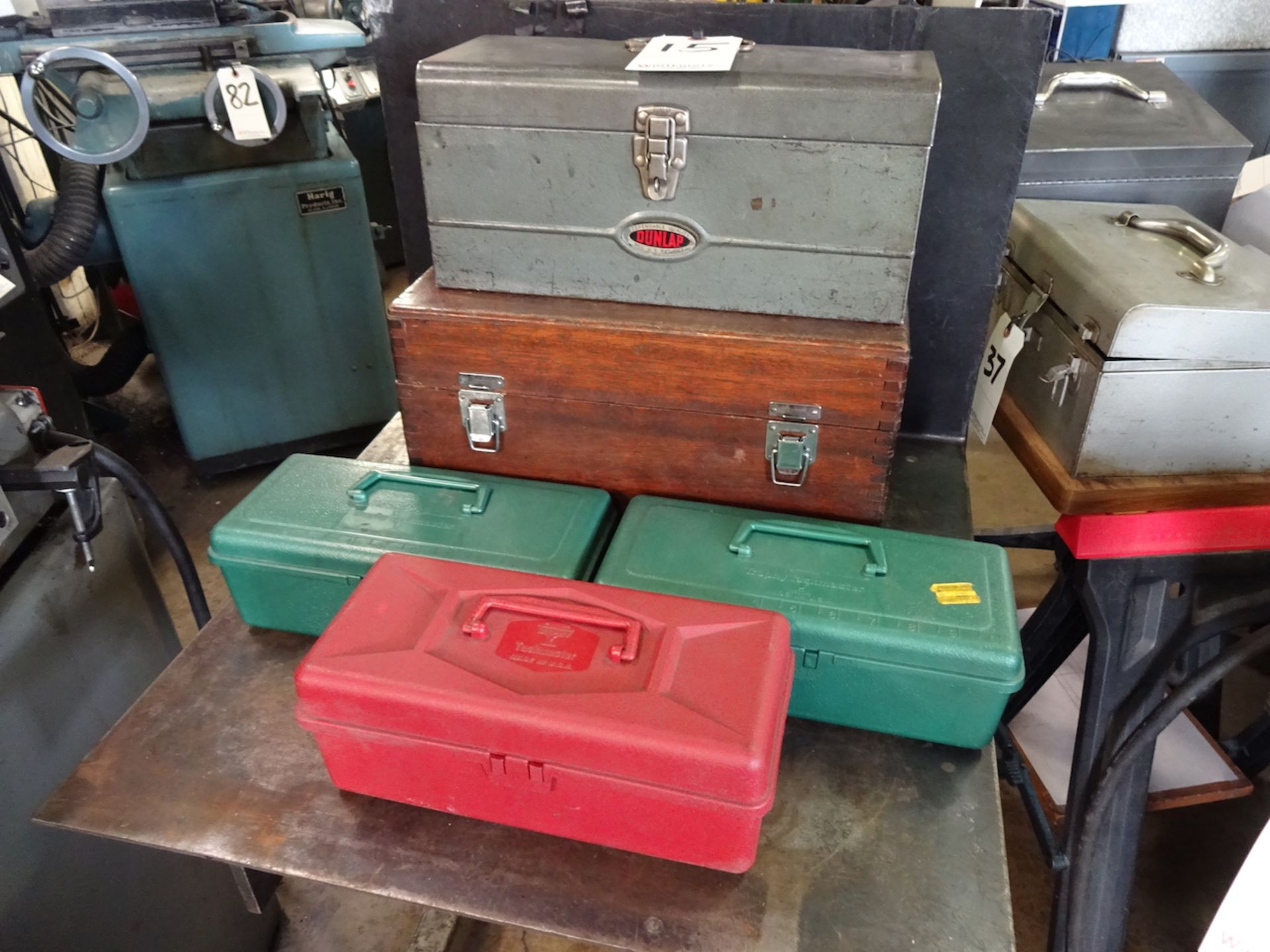 Lot 15 - LOT: ASSORTED TOOL BOXES