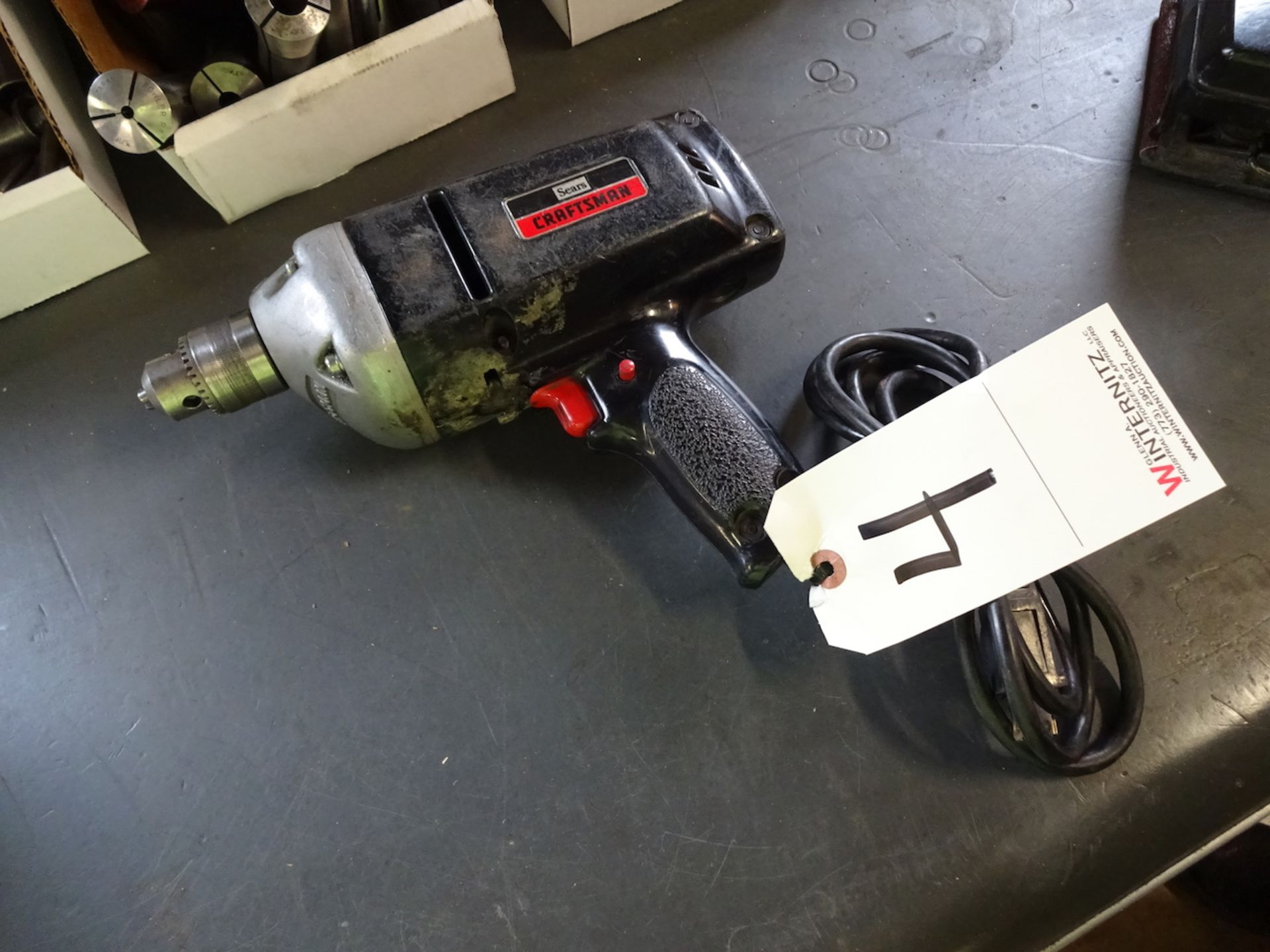 Lot 4 - SEARS CRAFTSMAN 3/8 IN MODEL 315.11480 ELECTRIC DRILL
