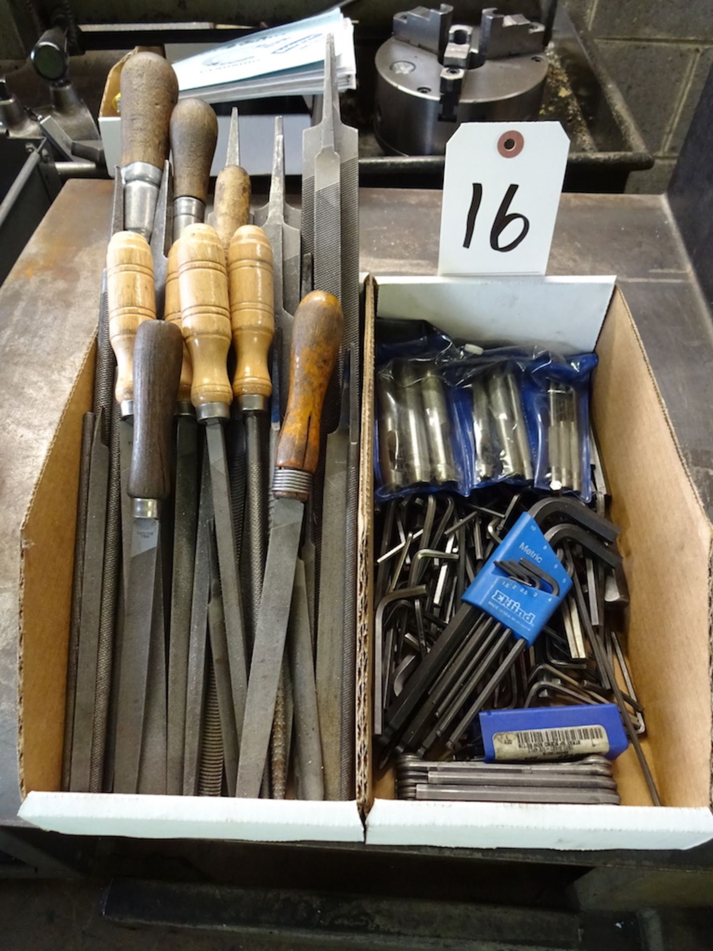 Lot 16 - LOT: ASSORTED FILES & ALLEN WRENCHES