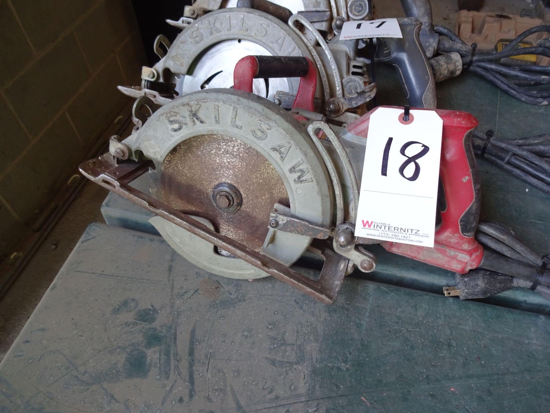 "Lot 18 - SKILSAW 7 1/4"" ELECTRIC CIRCULAR SAW"