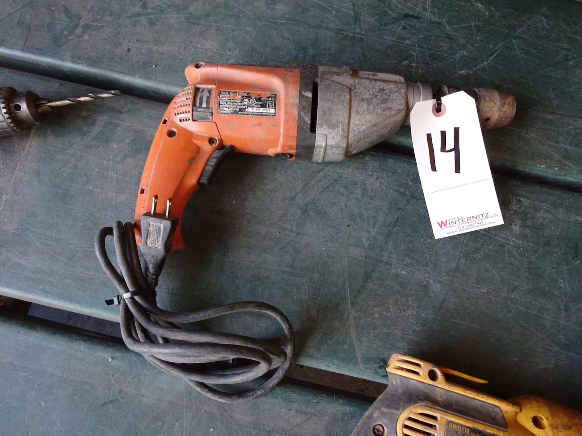 Lot 14 - RIDGID ELECTRIC DRILL