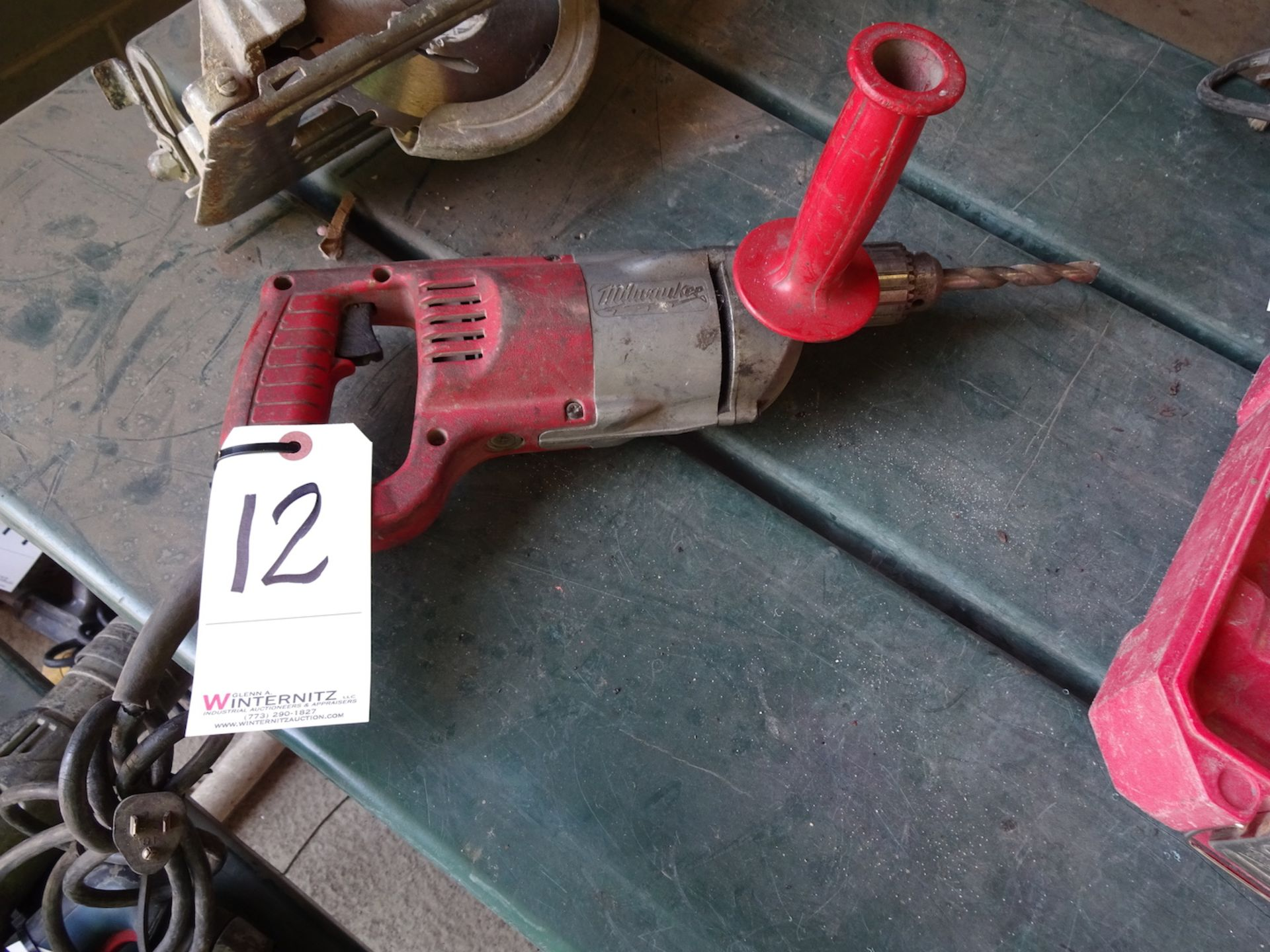 """Lot 12 - MILWAUKEE 1/2"""" ELECTRIC DRILL"""
