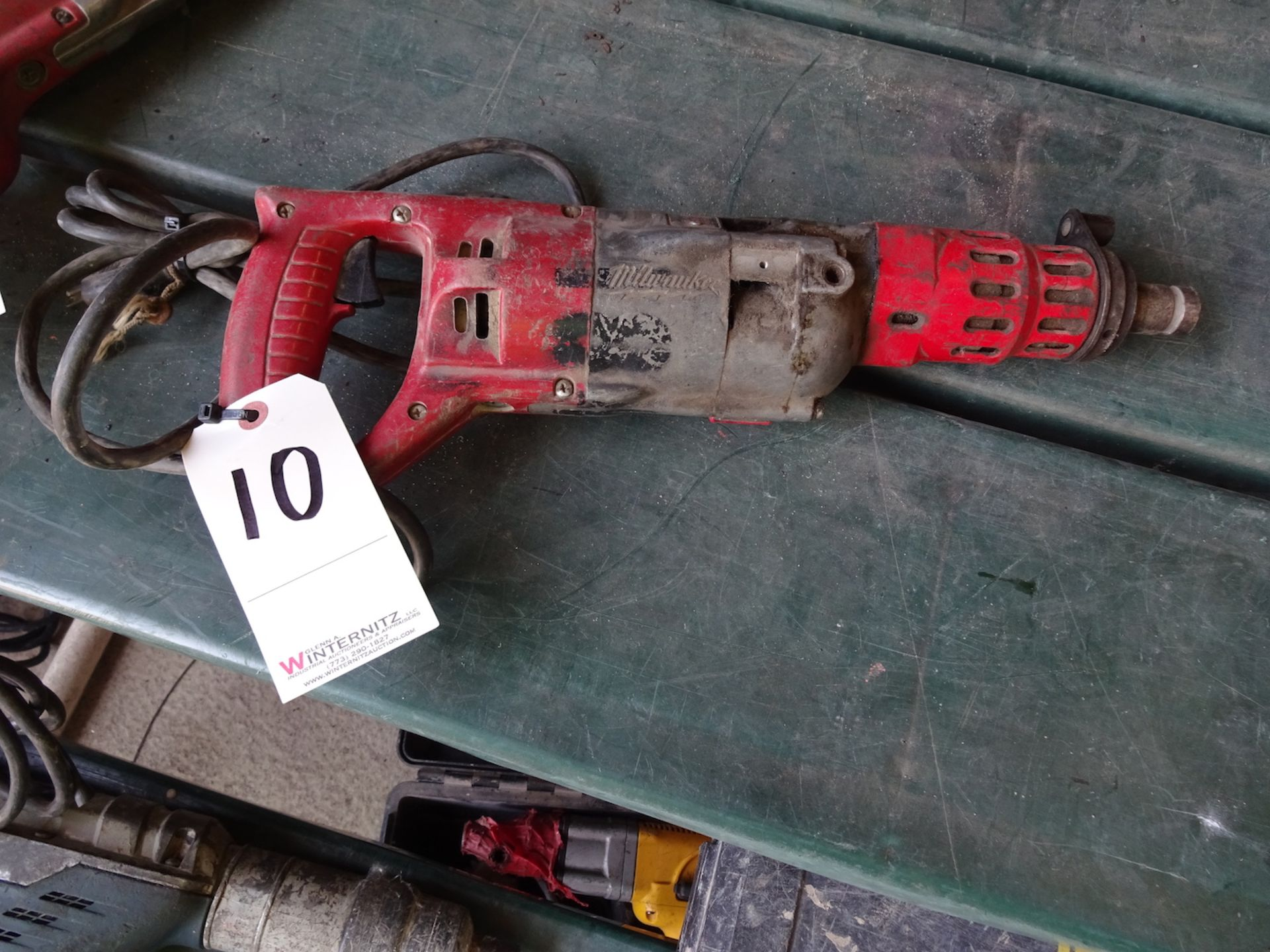 "Lot 10 - MILWAUKEE 3/4"" ROTARY HAMMER DRILL"