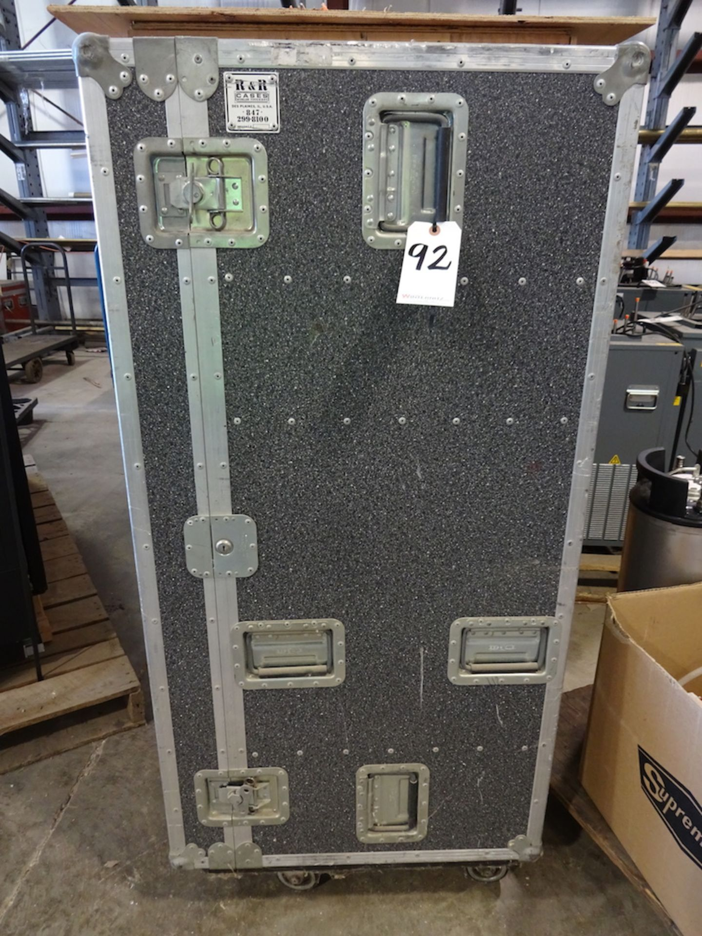 Lot 92 - R&R Portable Shipping Case