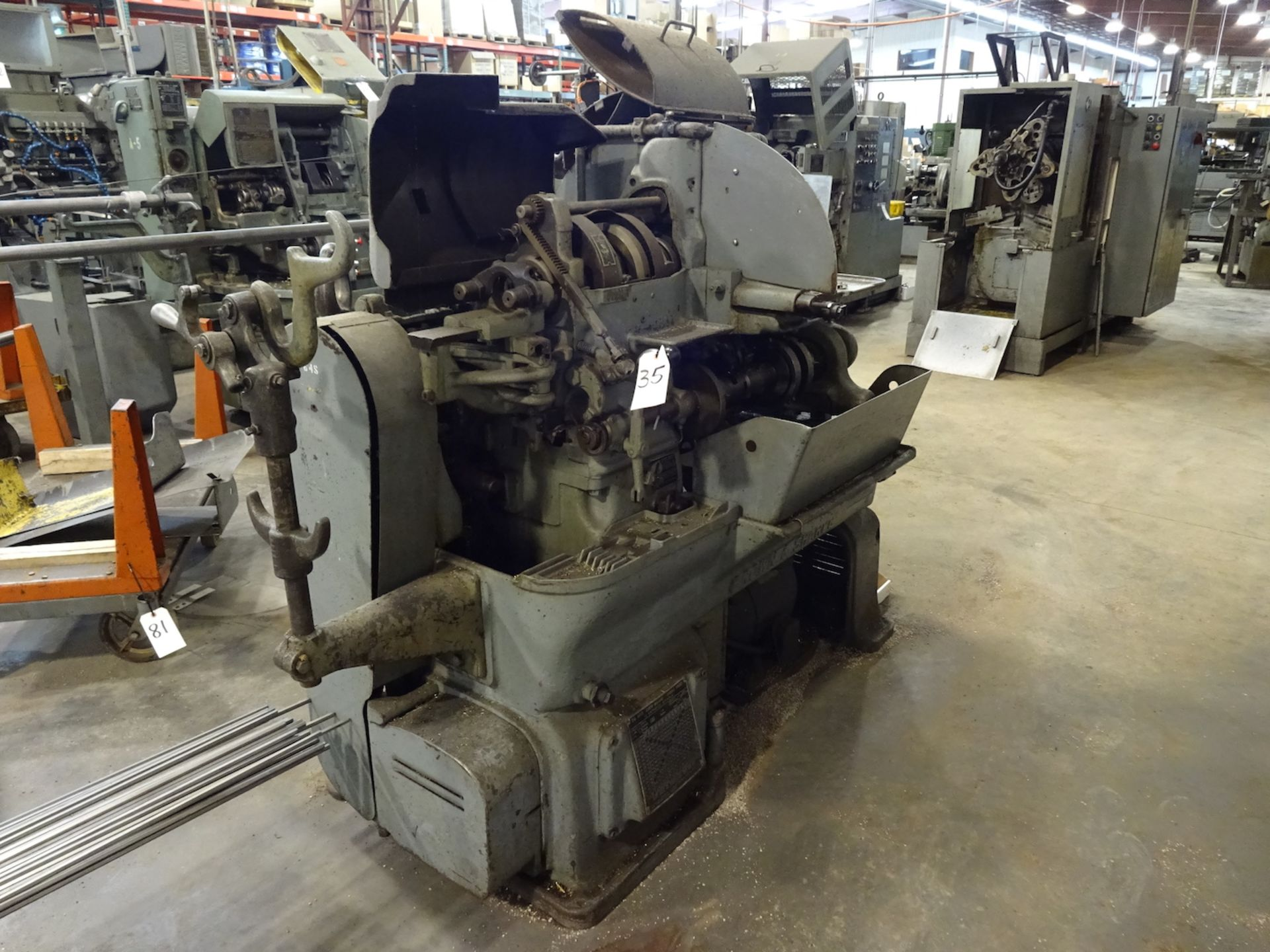 Lot 35 - Brown & Sharpe 1-1/2 in. Model 2G Single-Spindle Automatic Screw Machine, S/N 542-2-1533