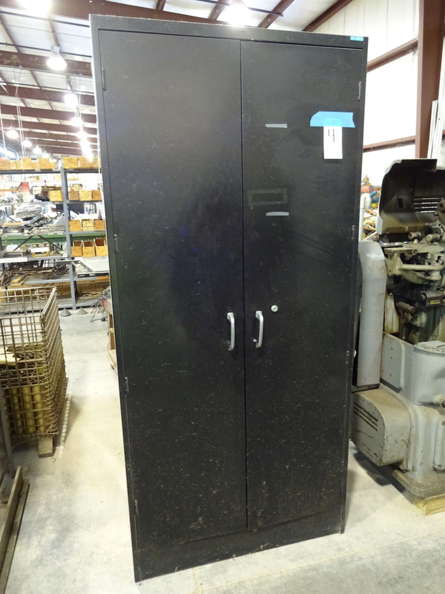 Lot 4 - 2-Door Steel Storage Cabinet