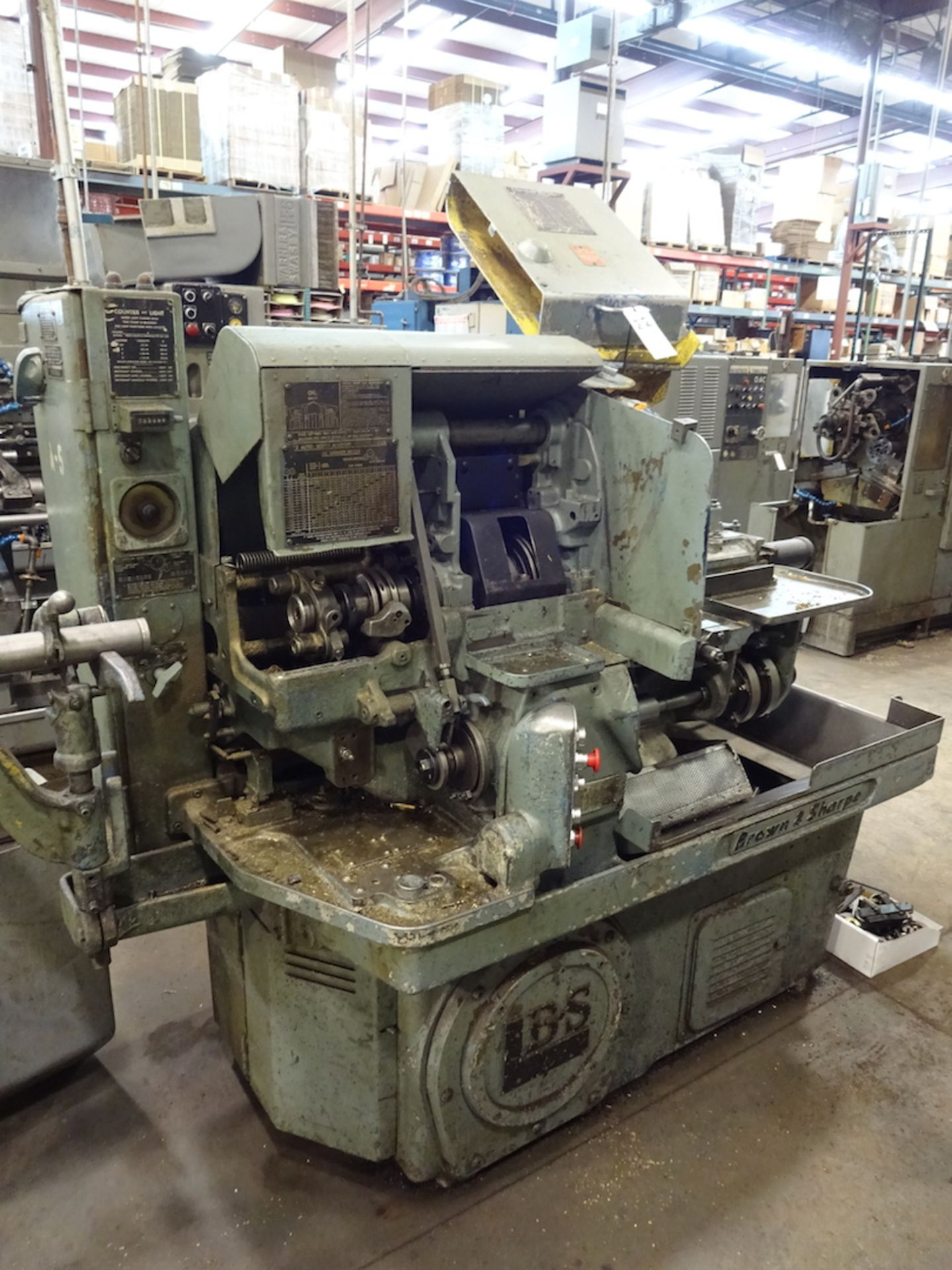 Lot 33 - Brown & Sharpe 1-1/2 in. Model 2 Single-Spindle Push Button Automatic Screw Machine, S/N 542-2-
