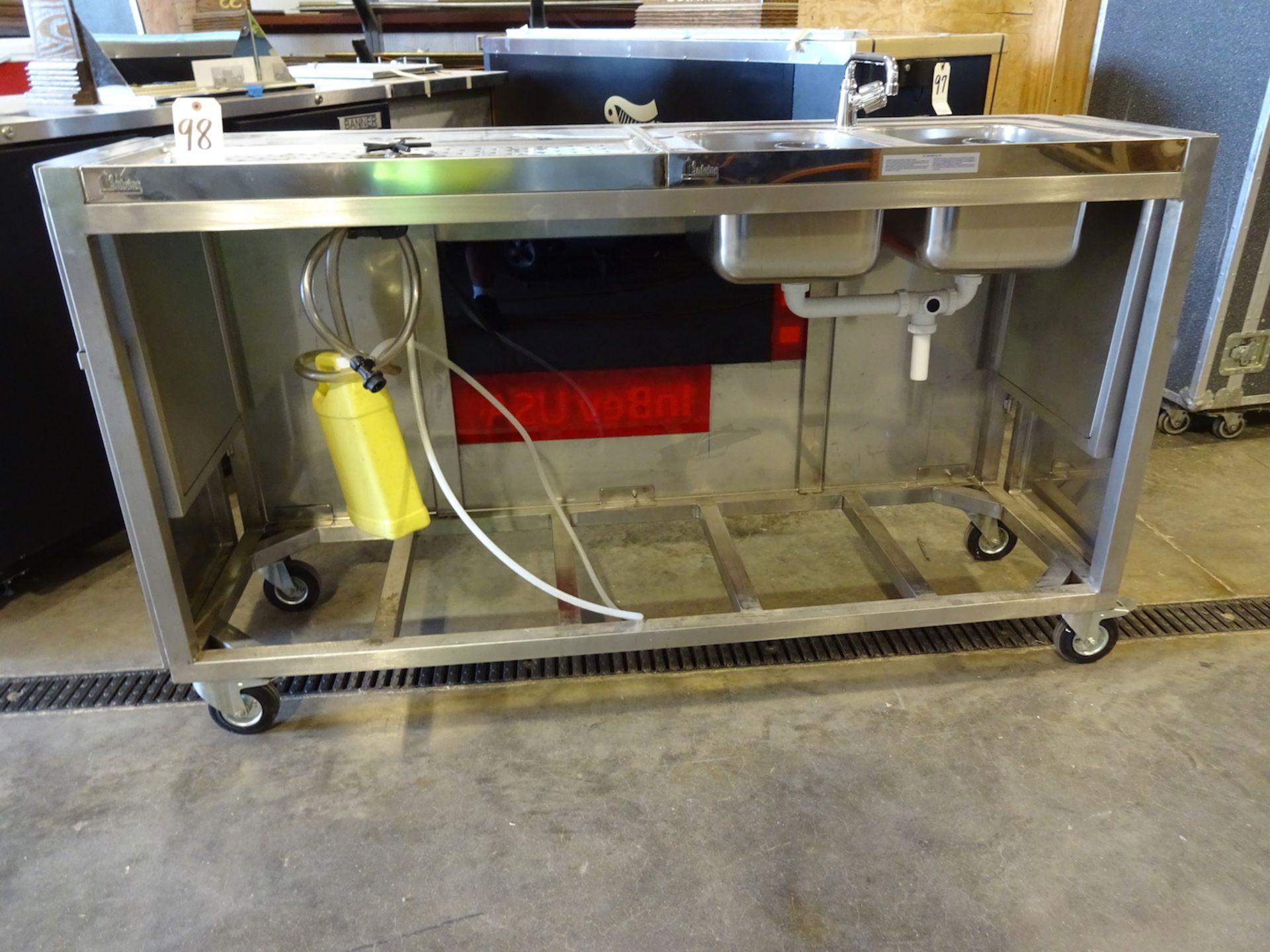 Lot 98 - InBev Draft Beer Testing/Pouring Station