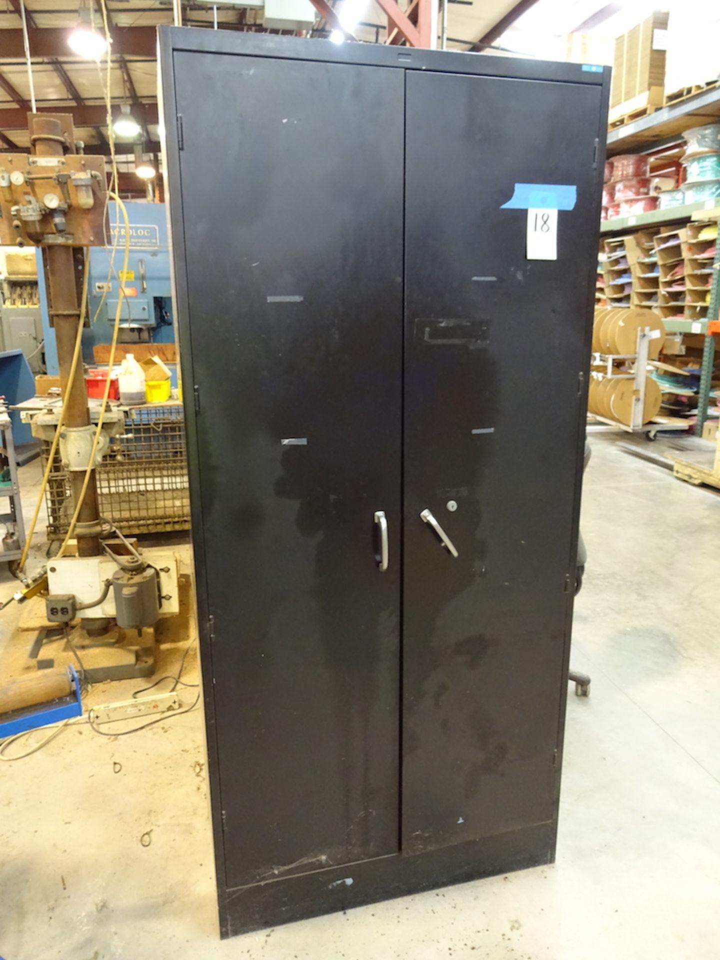 Lot 18 - 2-Door Storage Cabinet